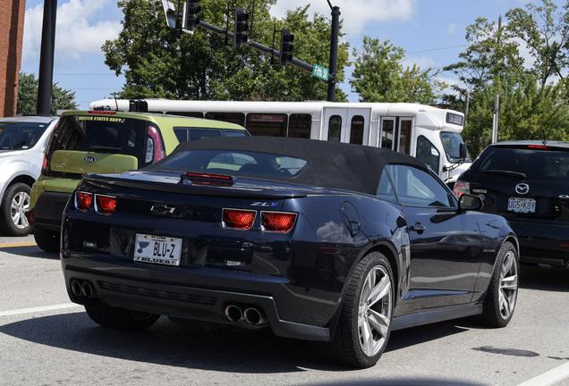 Chevrolet Camaro ZL1 Convertible