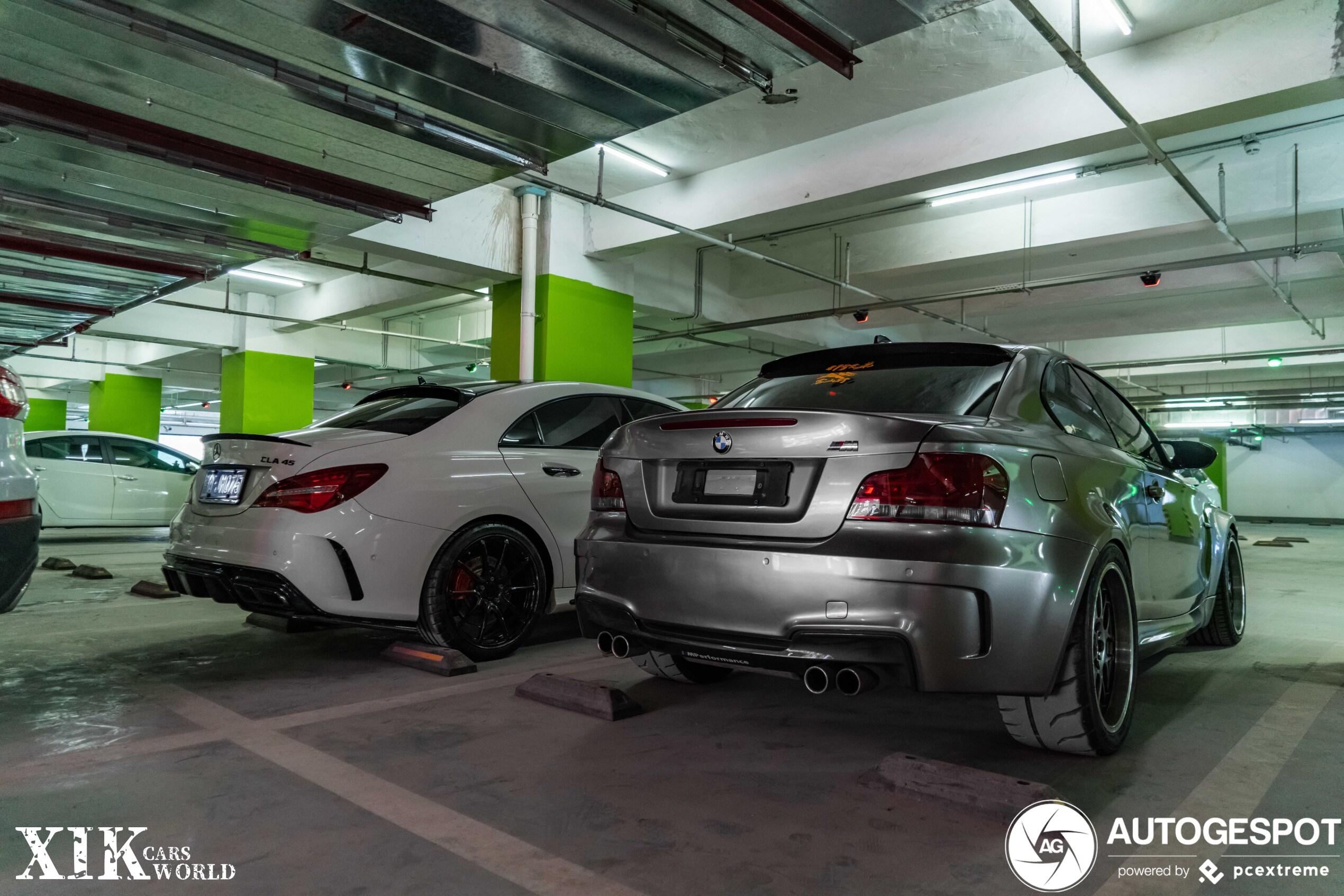 BMW 1 Series M Coupé heeft lekker veel grip op de achteras