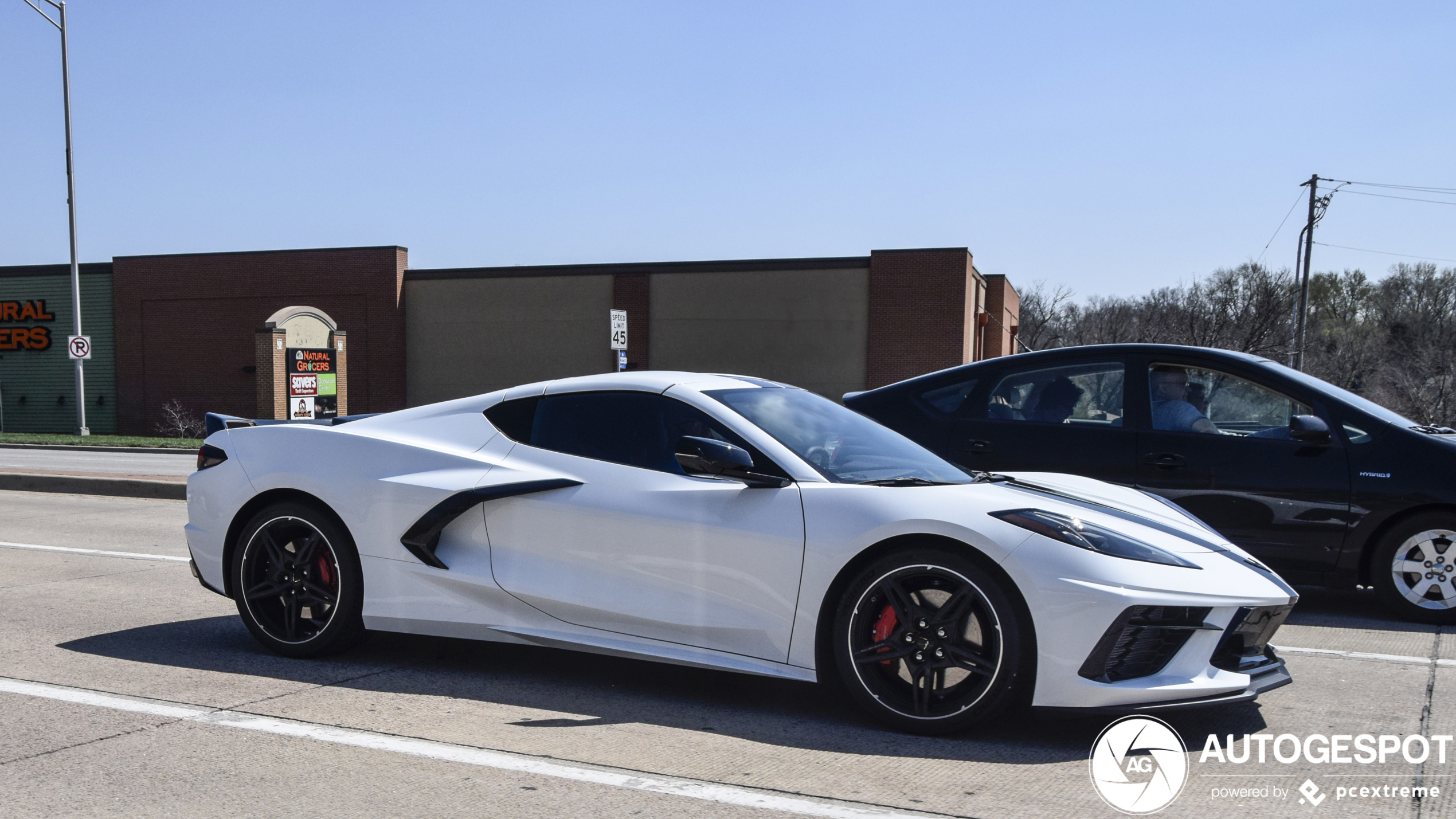 Spot of the day USA: Corvette C8 By OPspotters