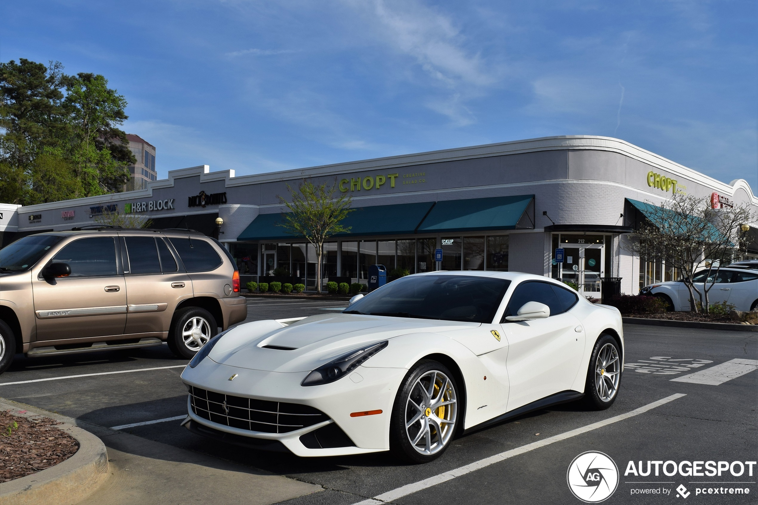 Ferrari F12 Berlinetta Highlighted.