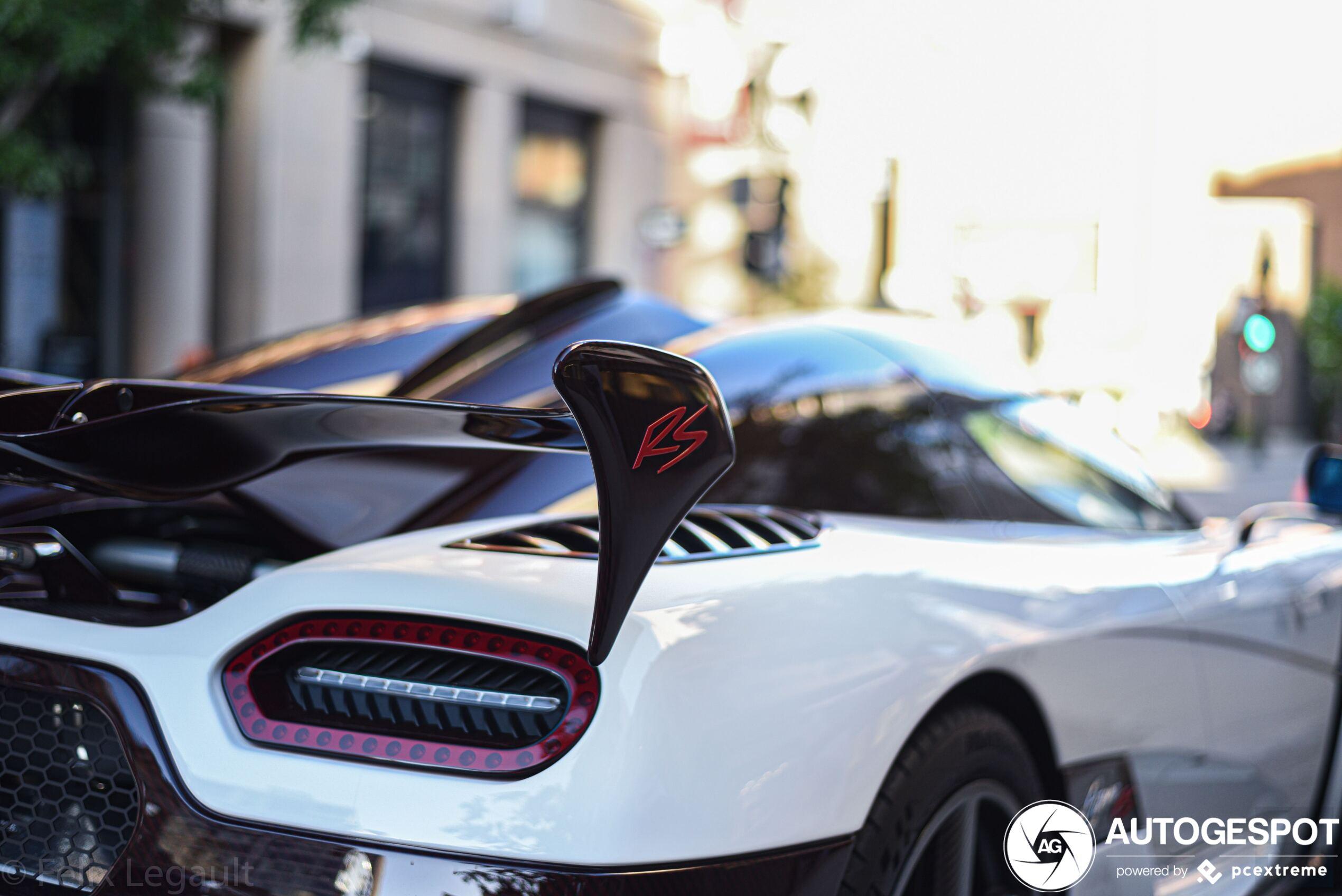 Koenigsegg Agera RS blijft een vette verschijning