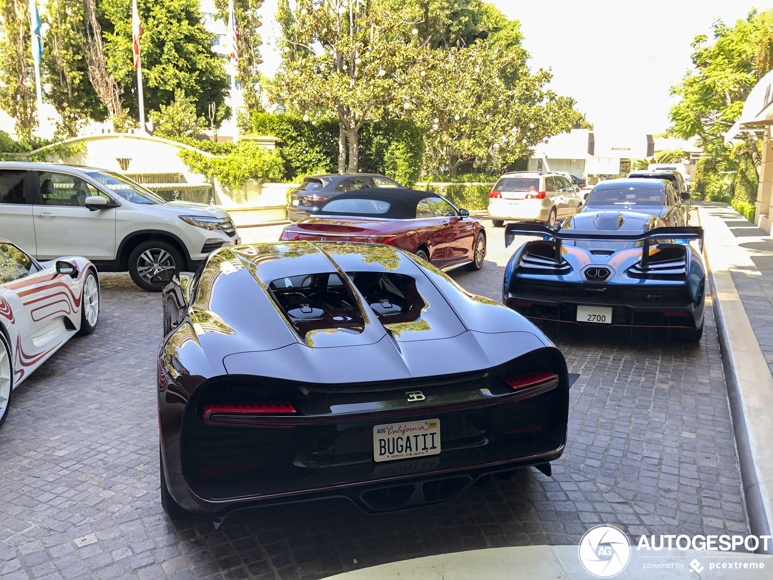 Monstercombo gespot in Beverly Hills