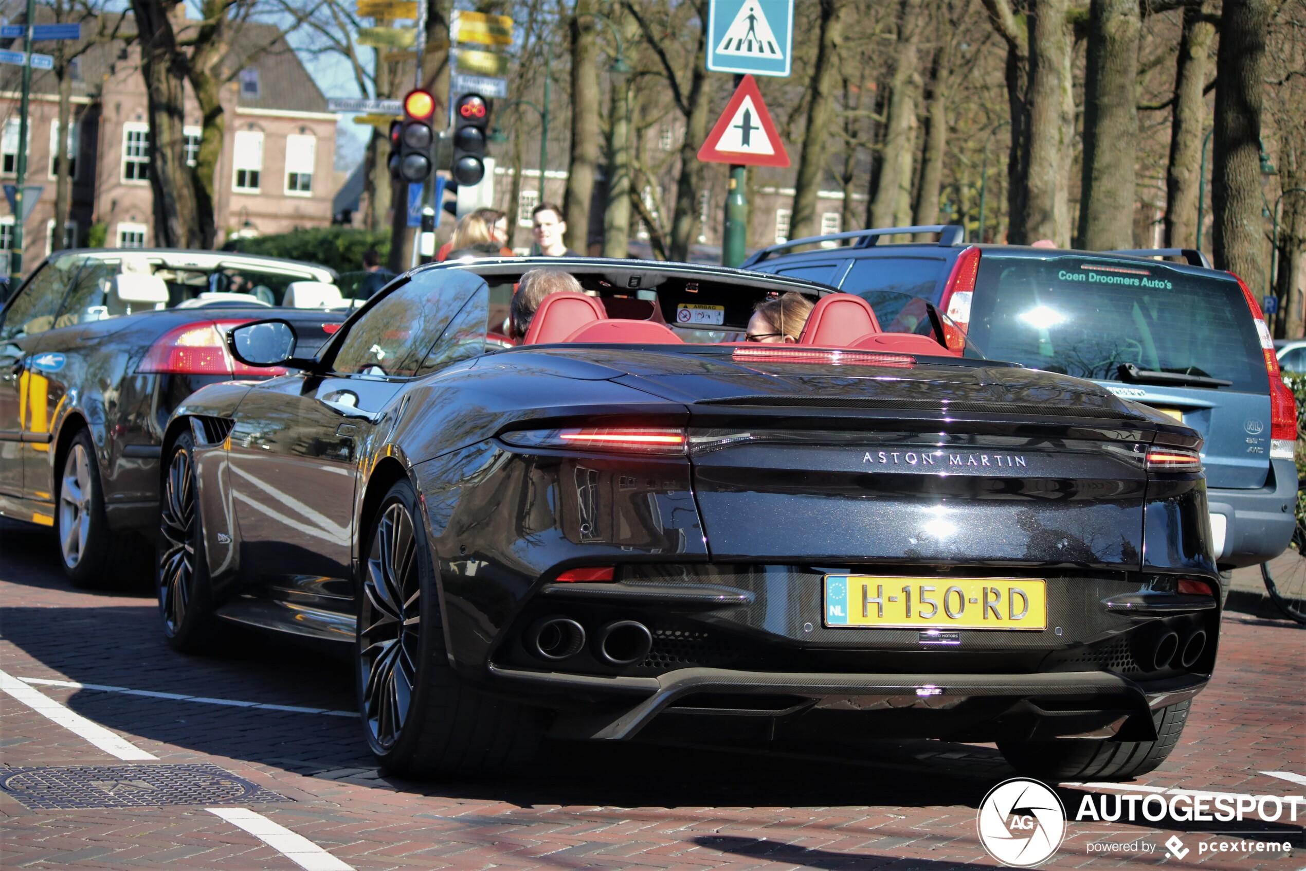 Gespot in Laren: Aston Martin DBS Superleggera Volante