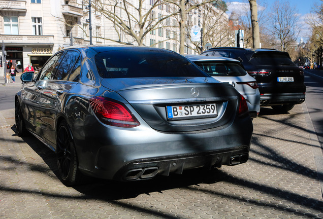 Mercedes-AMG C 63 W205 2018