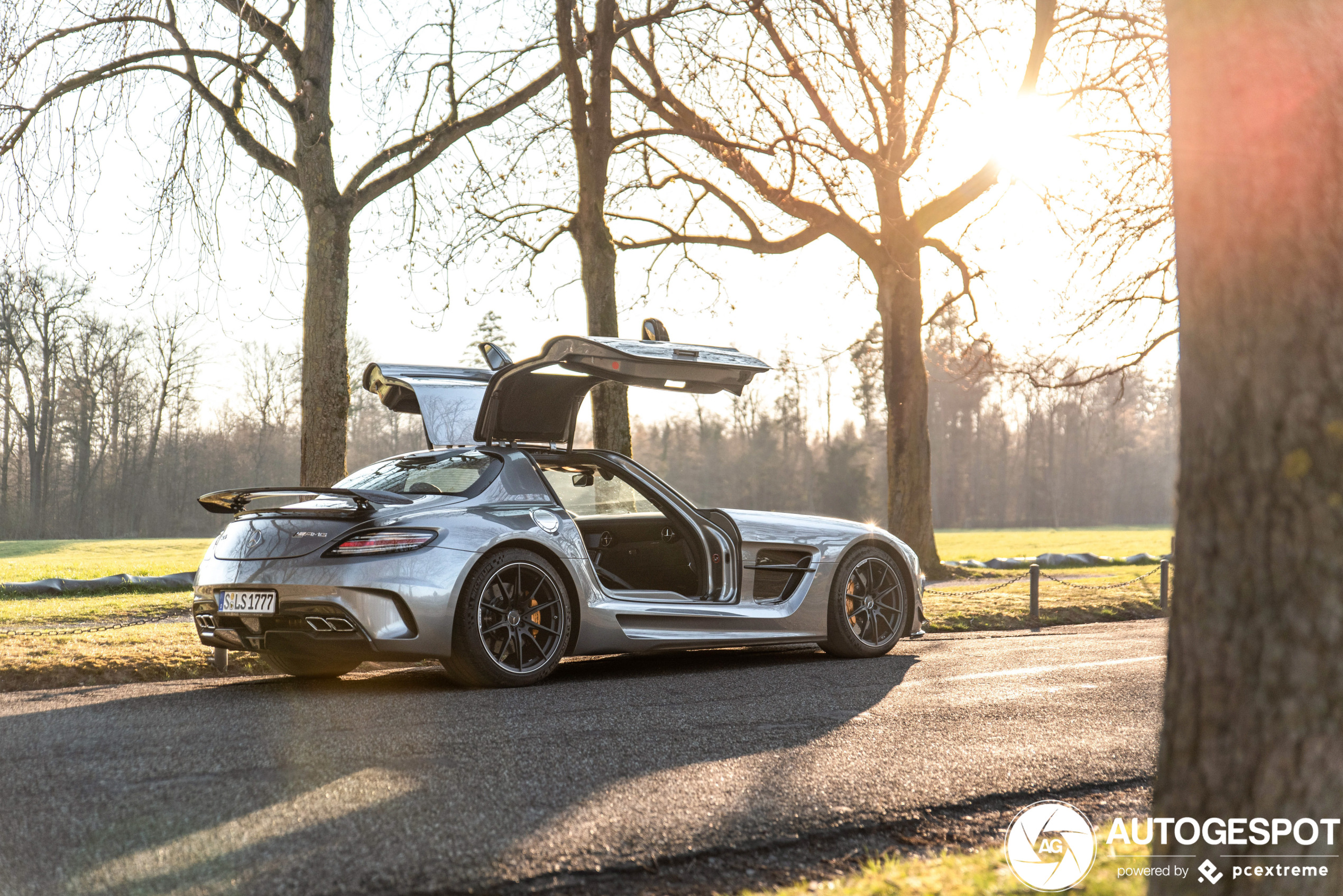 SLS AMG Black Series spotted in all its glory