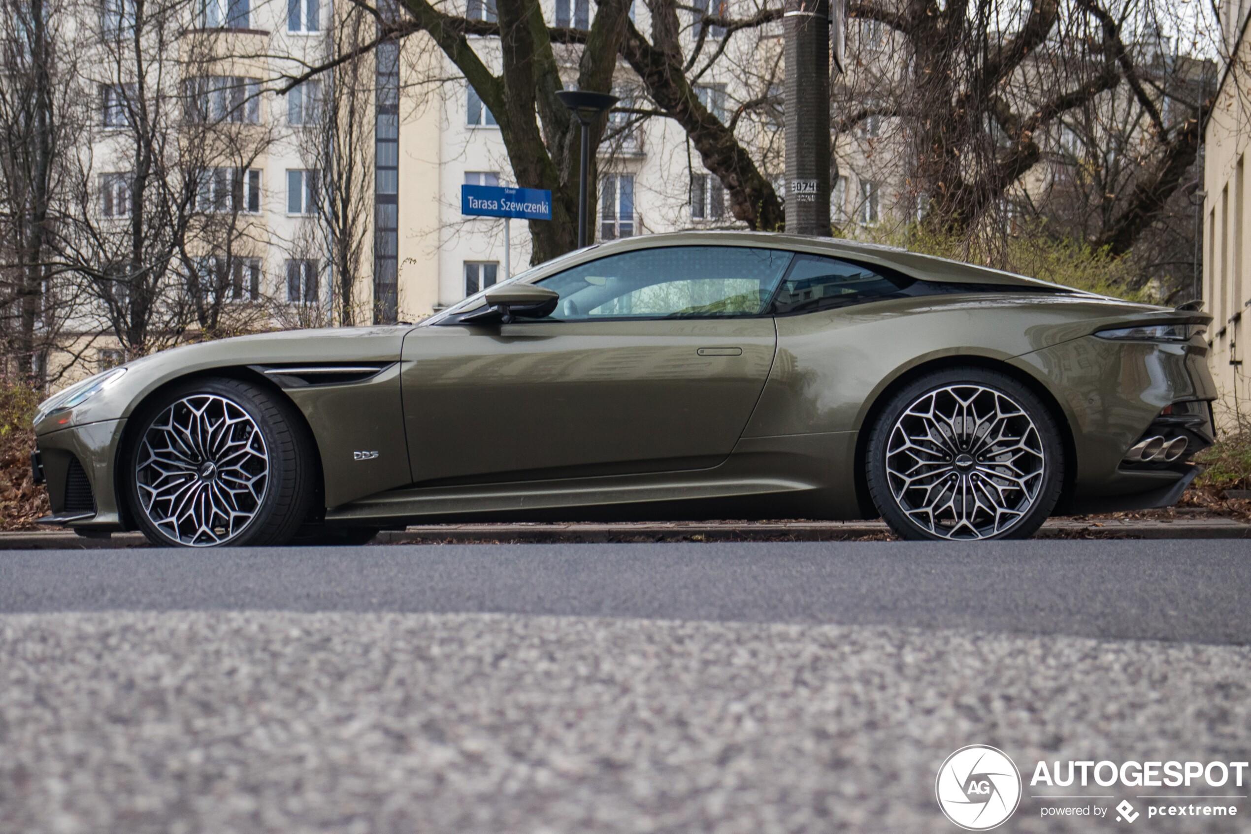 Aston Martin Dbs Superleggera Ohmss Edition 8 April 2020 Autogespot
