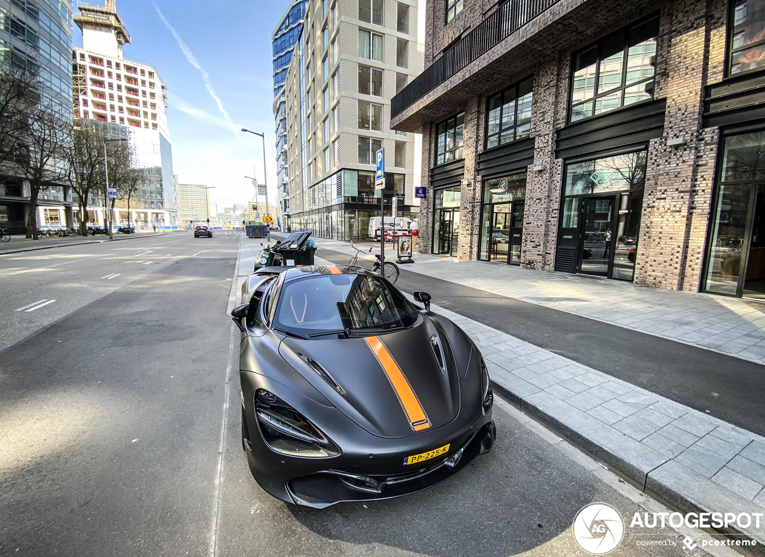 McLaren 720S van nieuw jasje voorzien