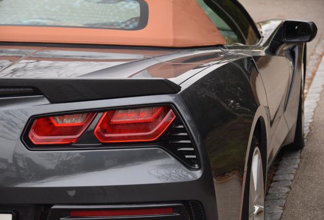 Chevrolet Corvette C7 Stingray Convertible