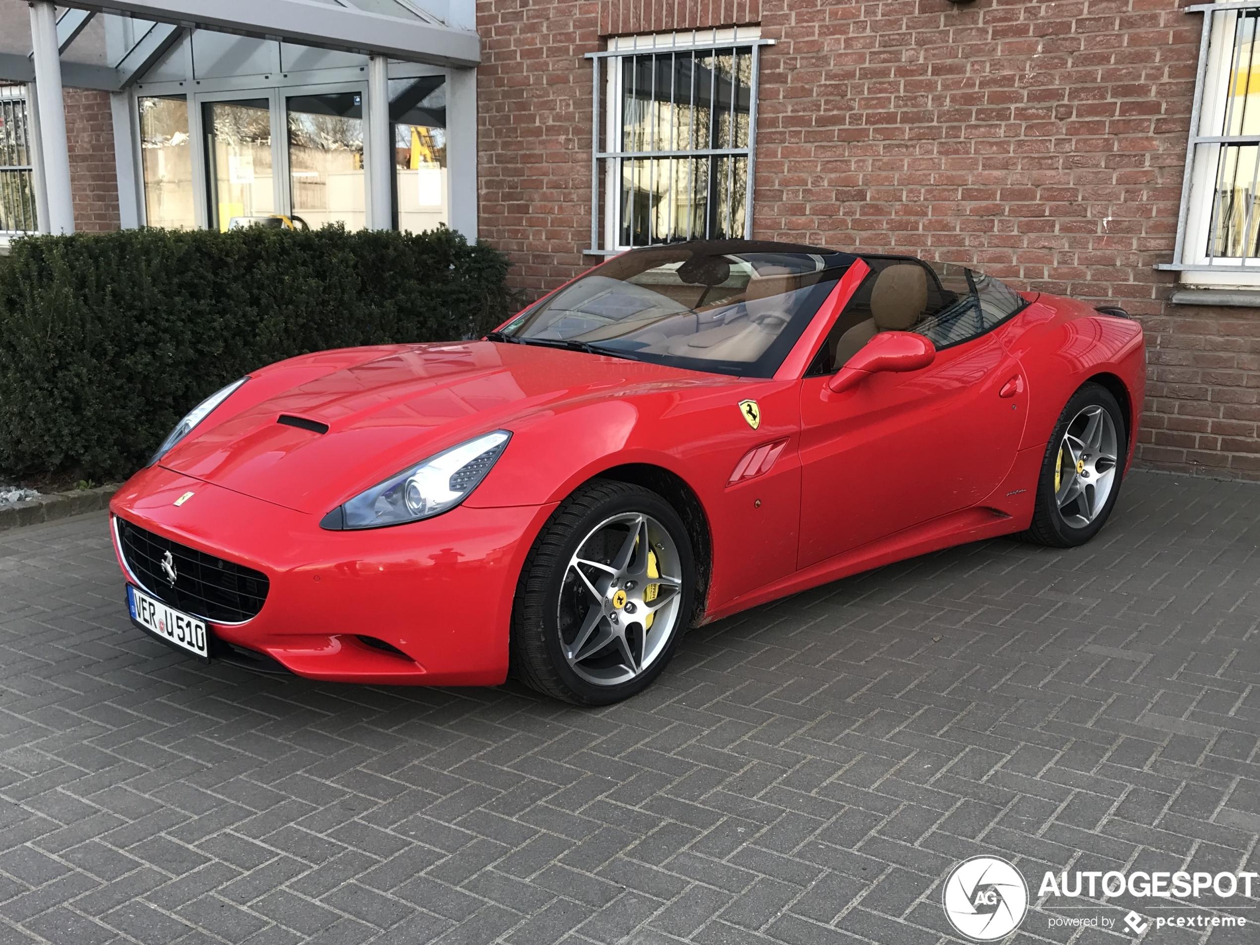 Ferrari California - 10 April 2020 - Autogespot