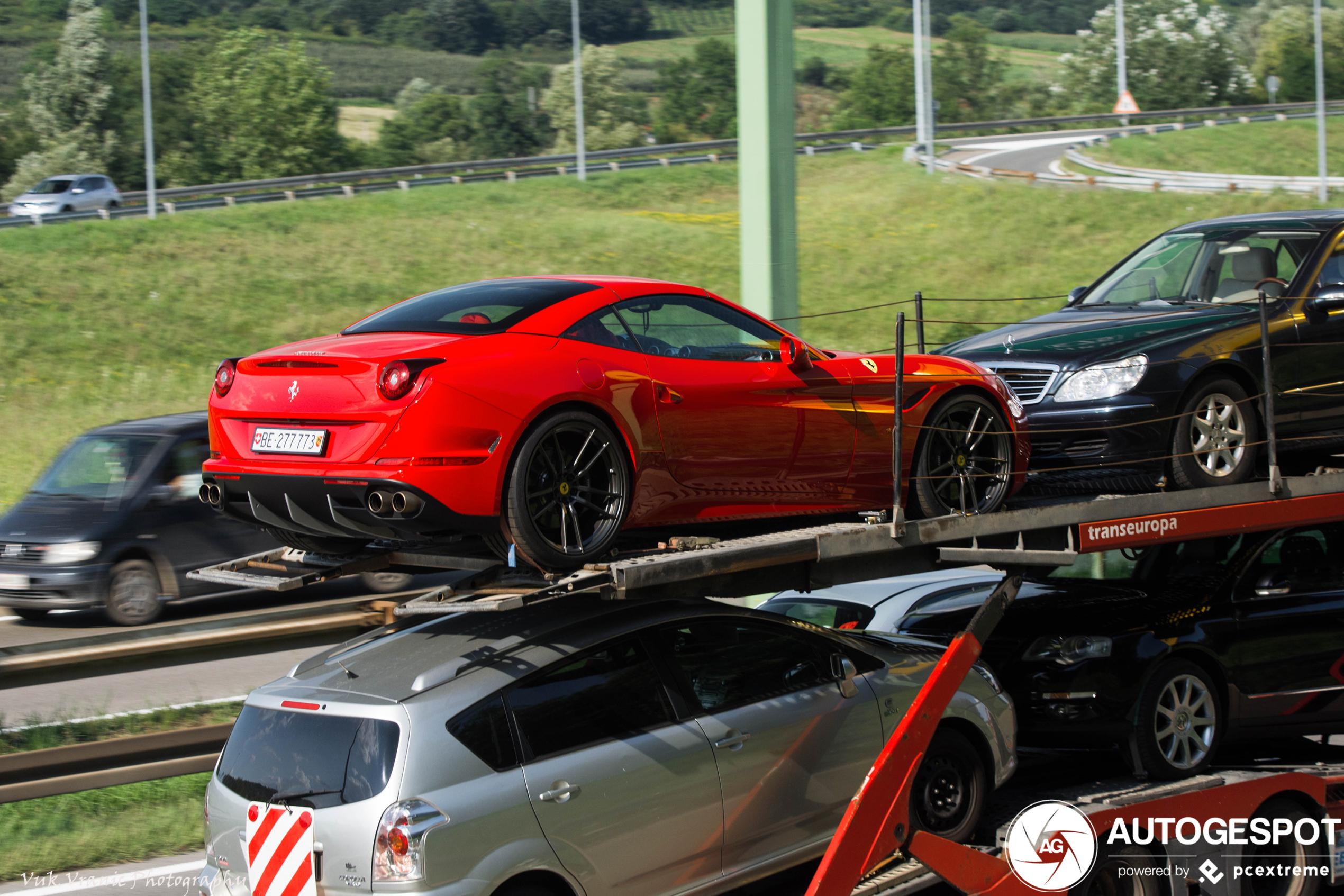 Ferrari California T - 11 april 2020 - Autogespot