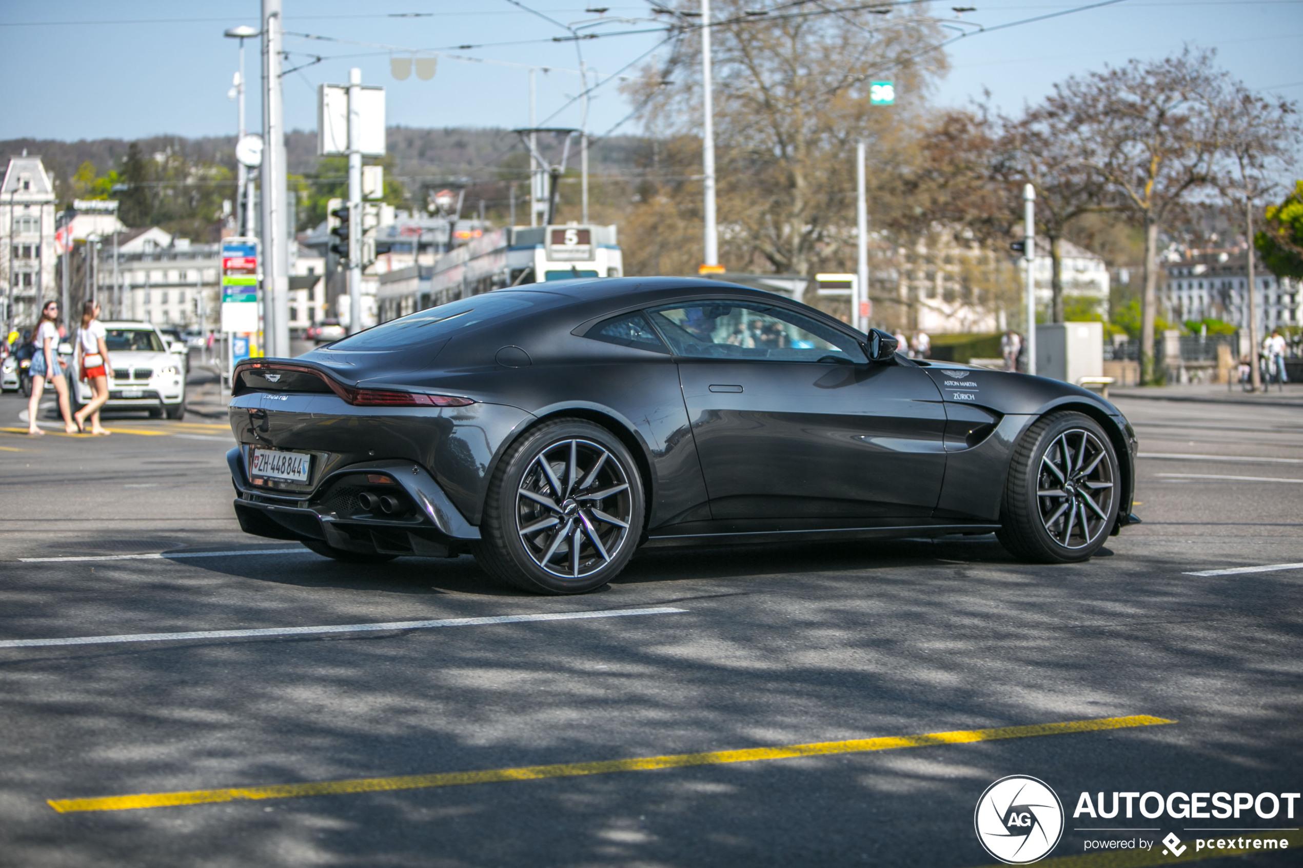 Aston Martin V8 Vantage 2018 13 April 2020 Autogespot