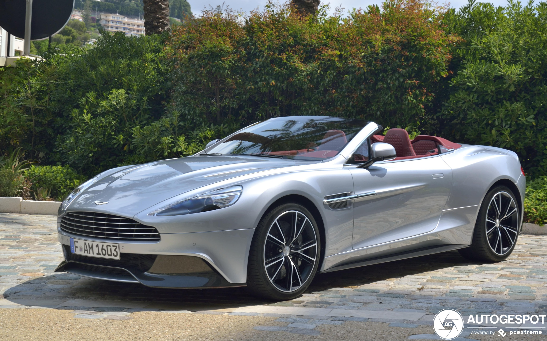 Aston Martin Vanquish Volante 13 April 2020 Autogespot