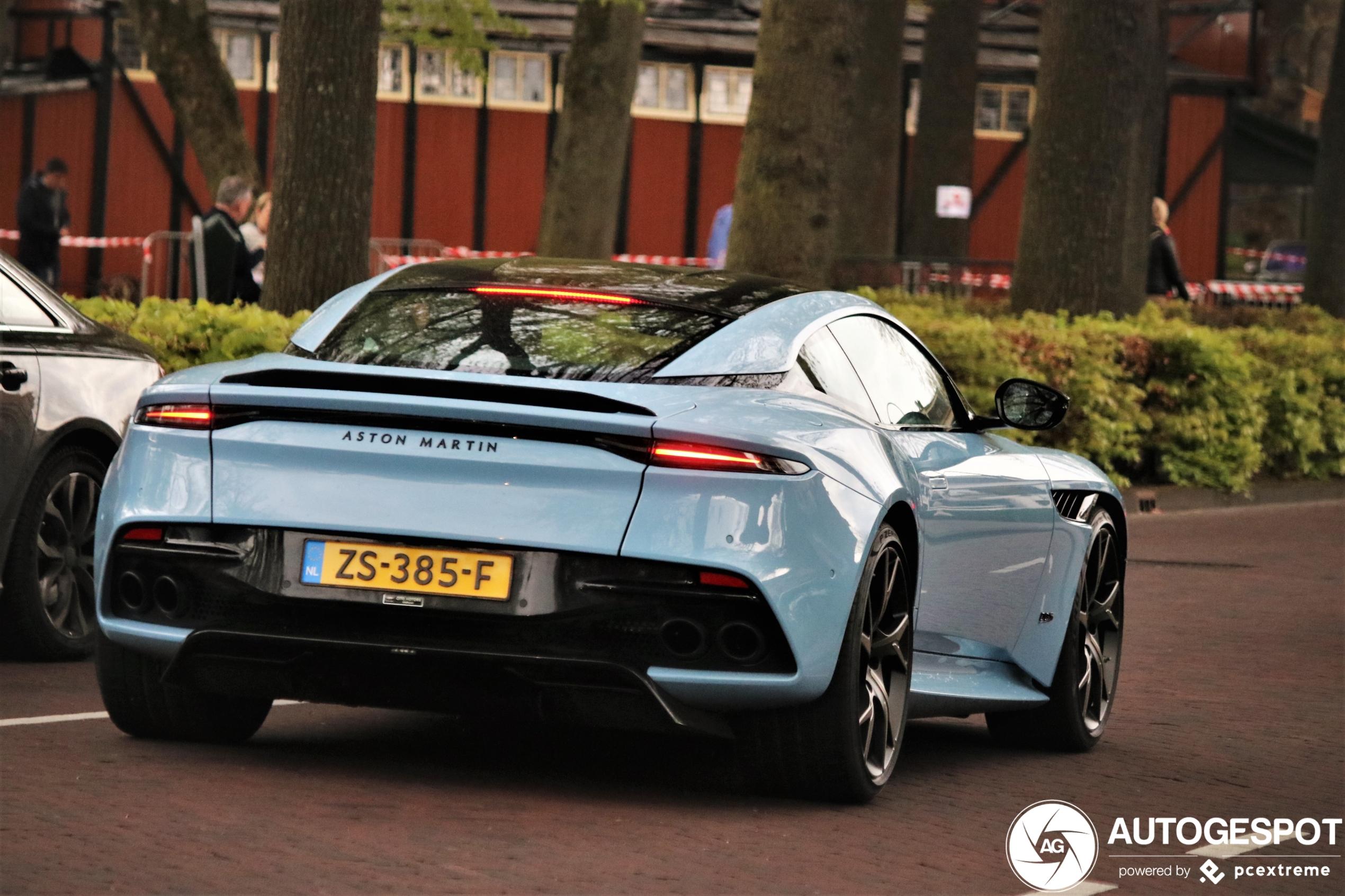 Laren levert wederom: Aston Martin DBS Superleggera