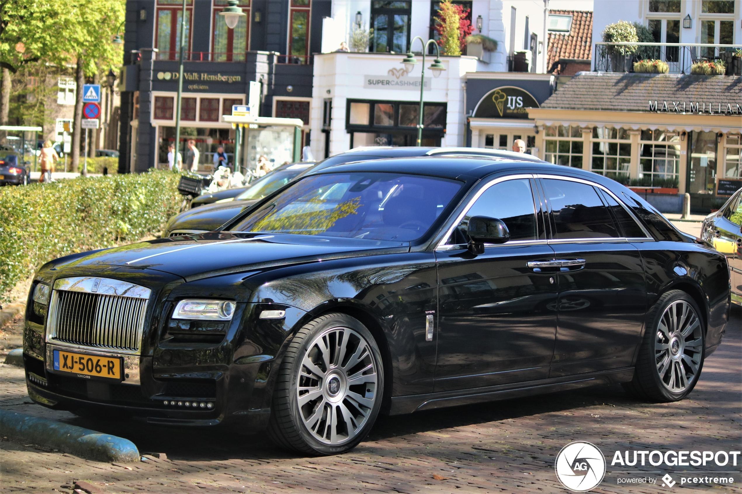 Deze Rolls-Royce Ghost mag stoerder door het leven dankzij Spofec