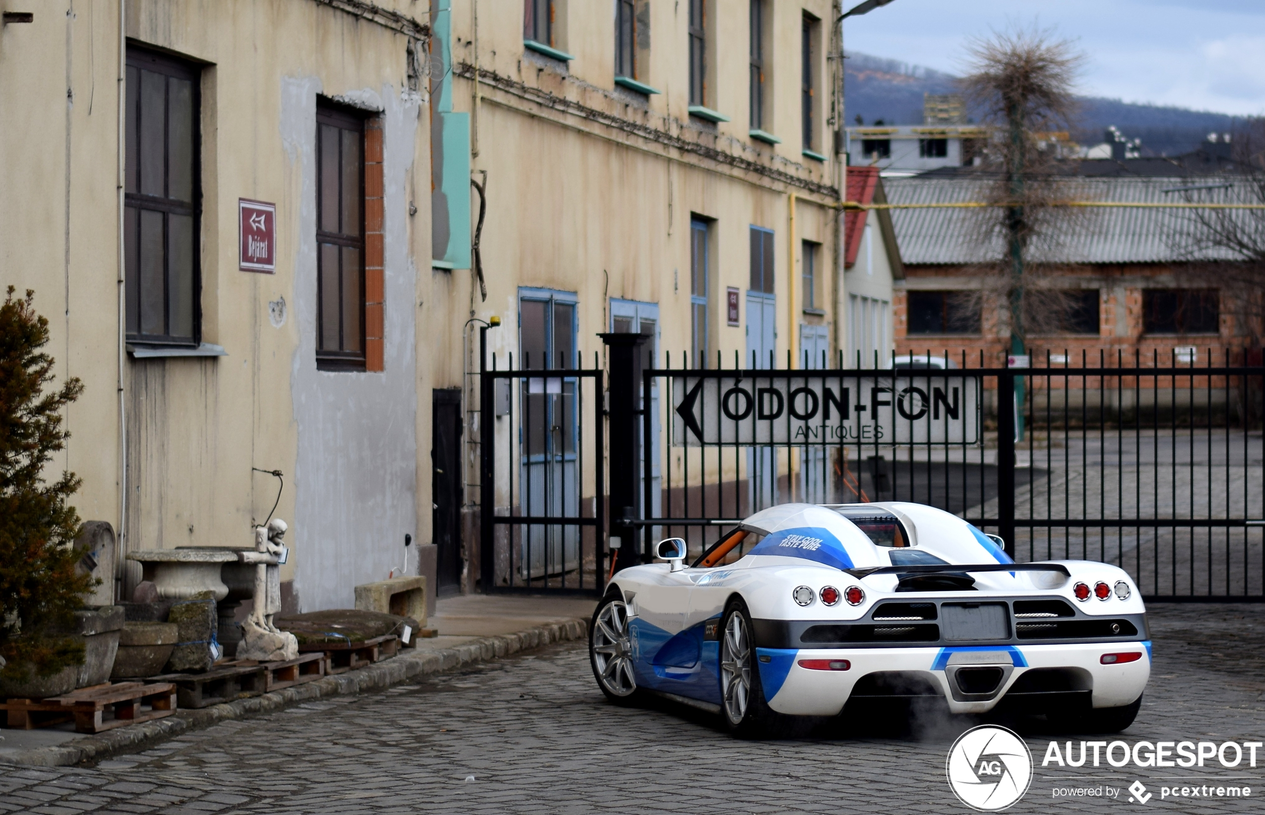 Koenigsegg CCXS is a real eyecatcher