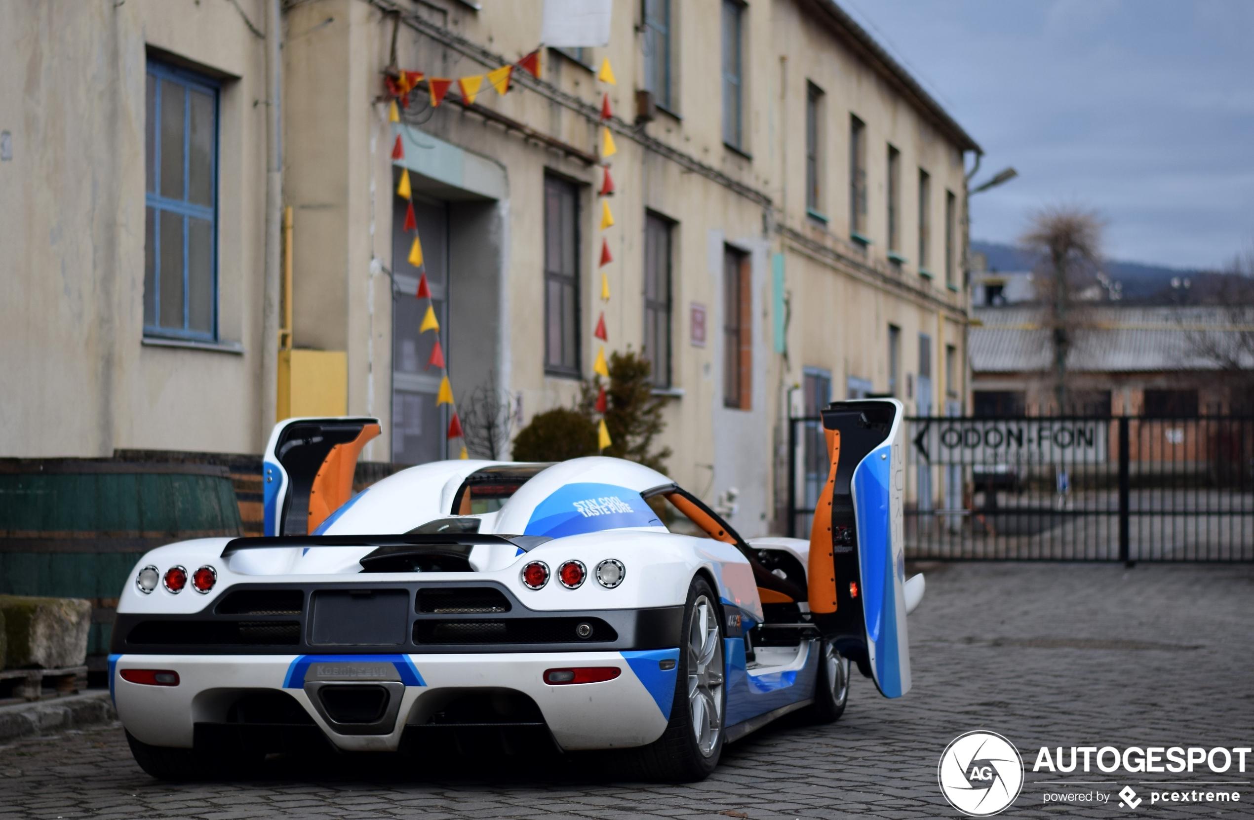 Koenigsegg CCXS pakt de aandacht