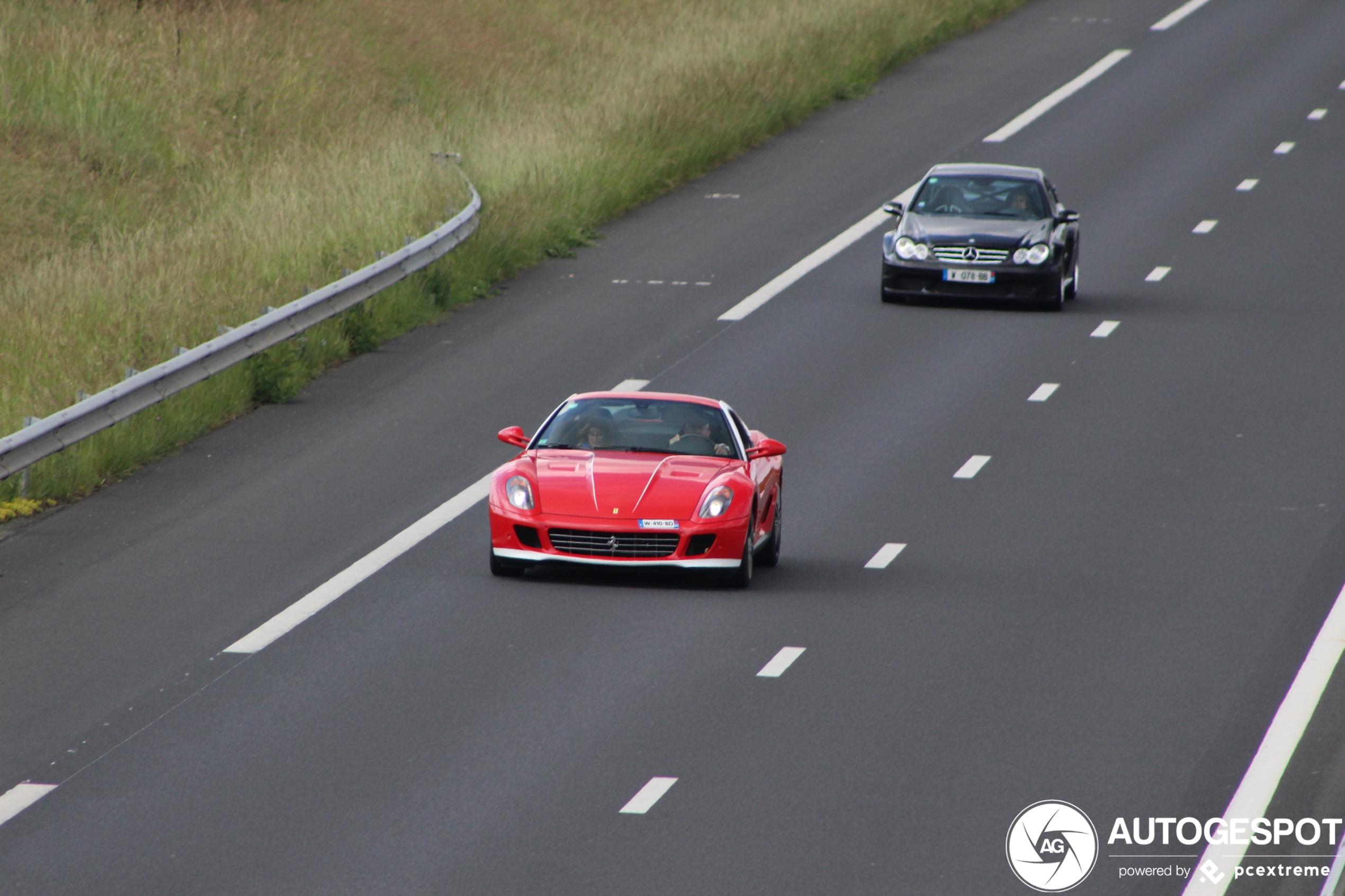 Ferrari 599 GTB 60F1 is leider van lekkere combo