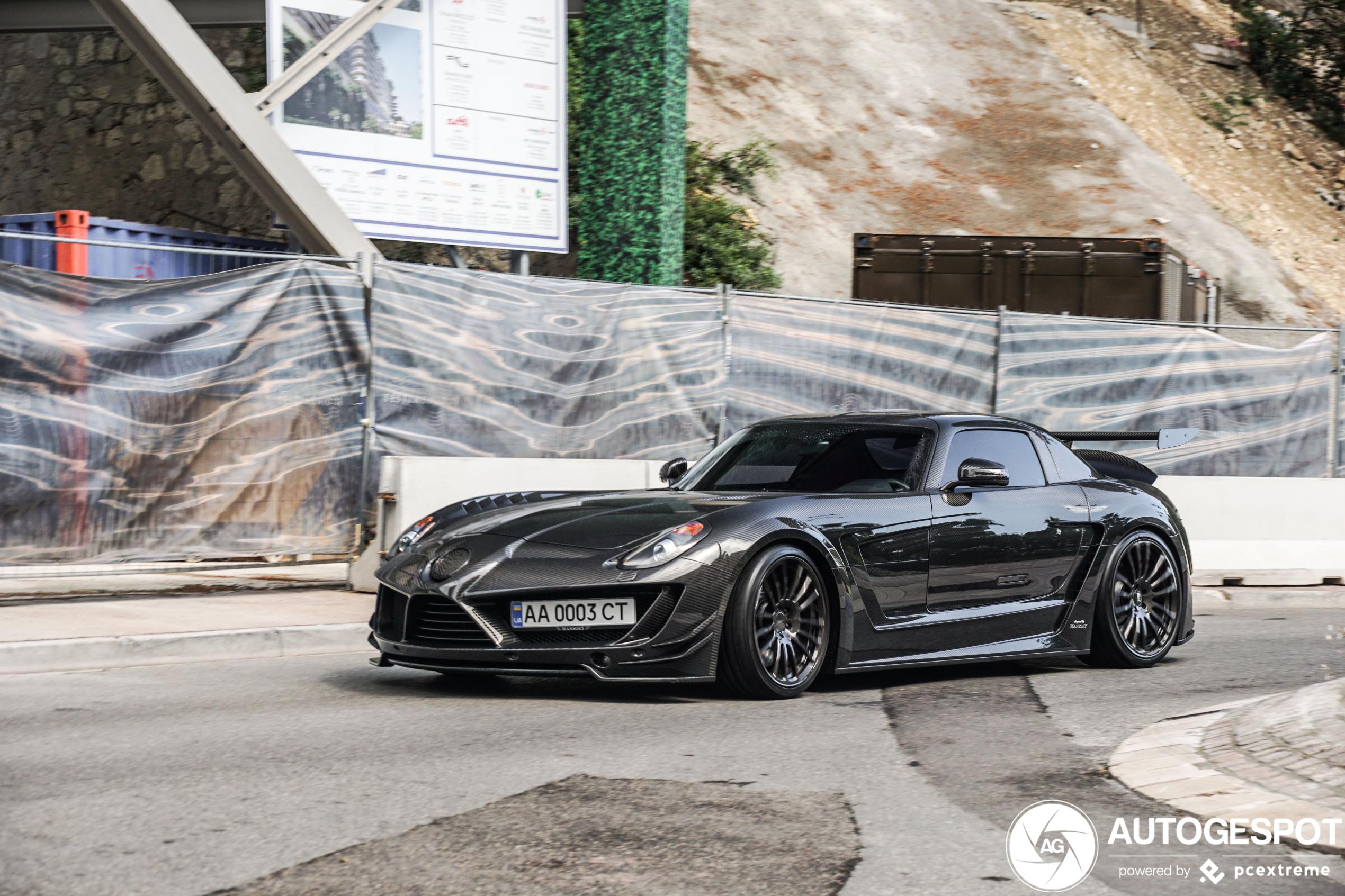Mercedes-Benz Mansory SLS AMG Cormeum blijft spectaculair