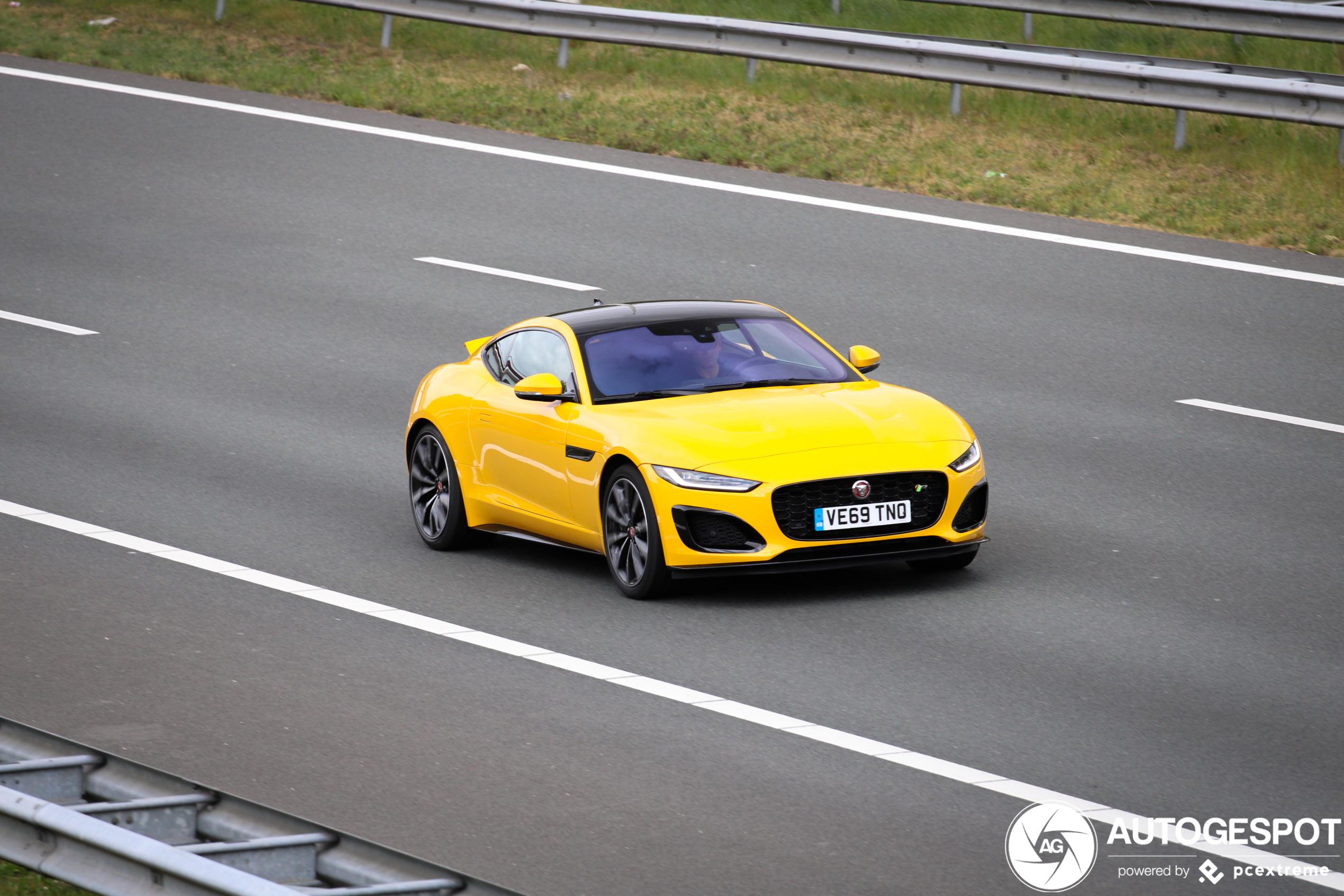 Jaguar F-TYPE R Coupé 2020 - 25 April 2020 - Autogespot