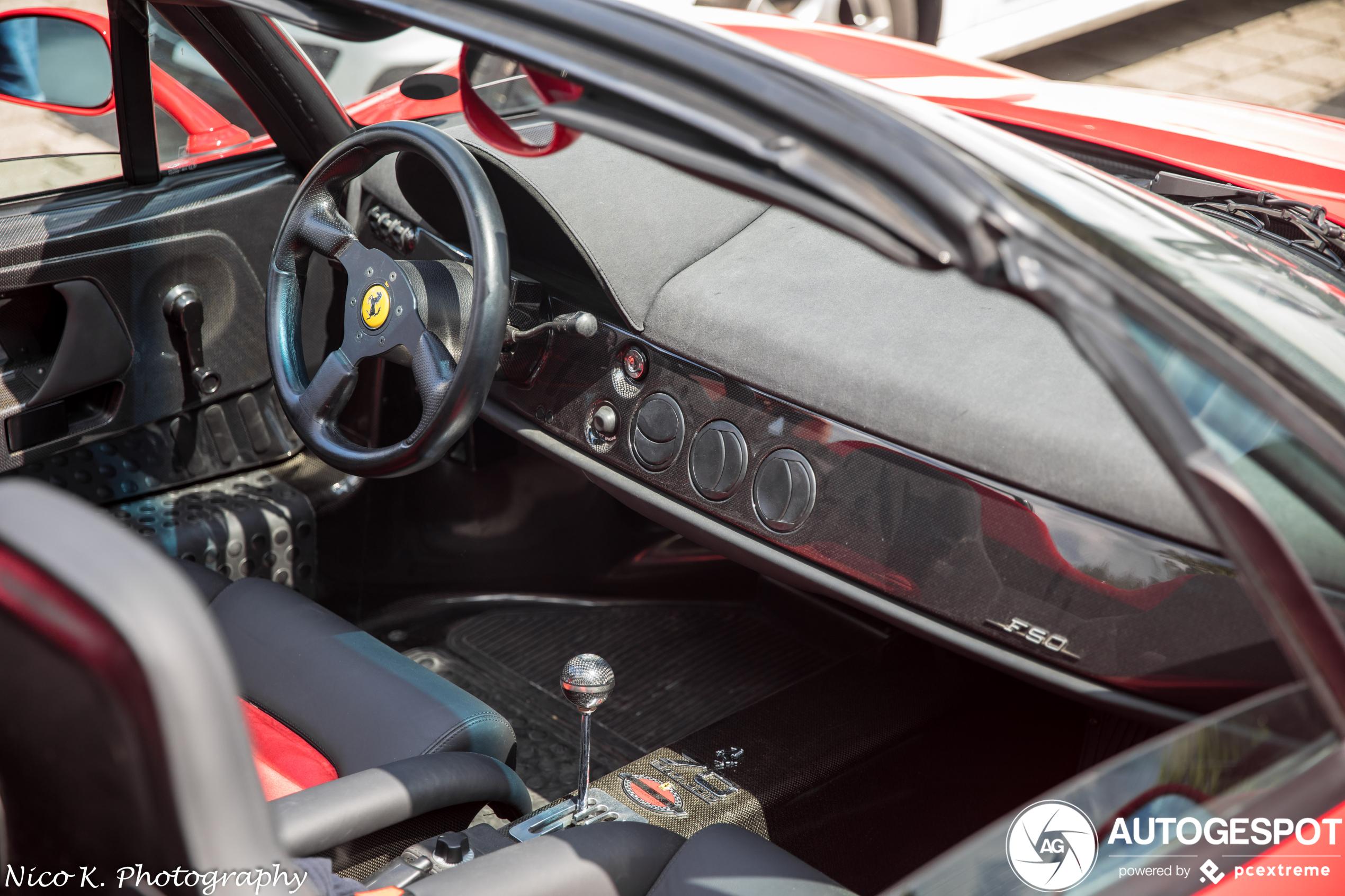 Ferrari F50 26 April 2020 Autogespot