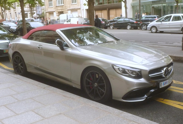 Mercedes-AMG S 63 Convertible A217 Edition 130
