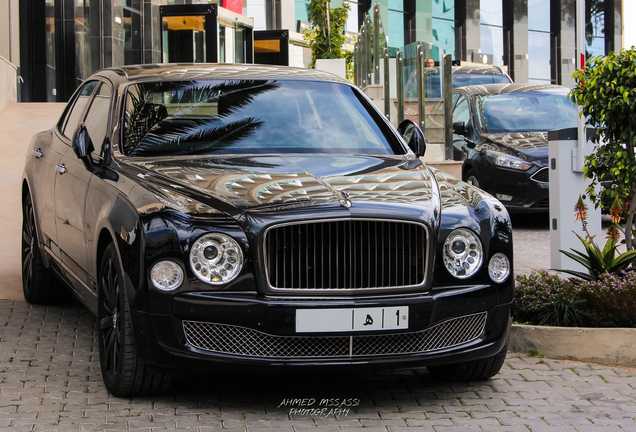 Bentley Mulsanne 2016 Mulliner Sinjari Edition