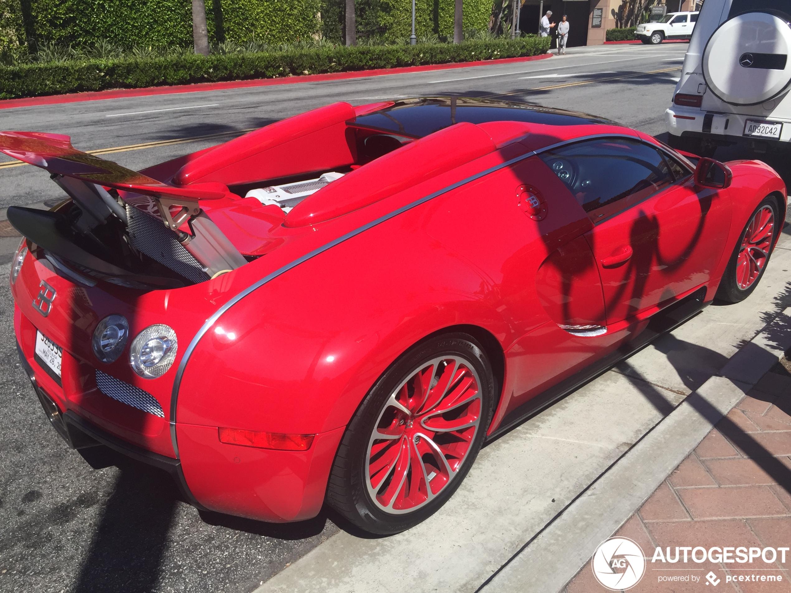 Birdman's Bugatti Veyron 16.4 Grand Sport duikt weer op