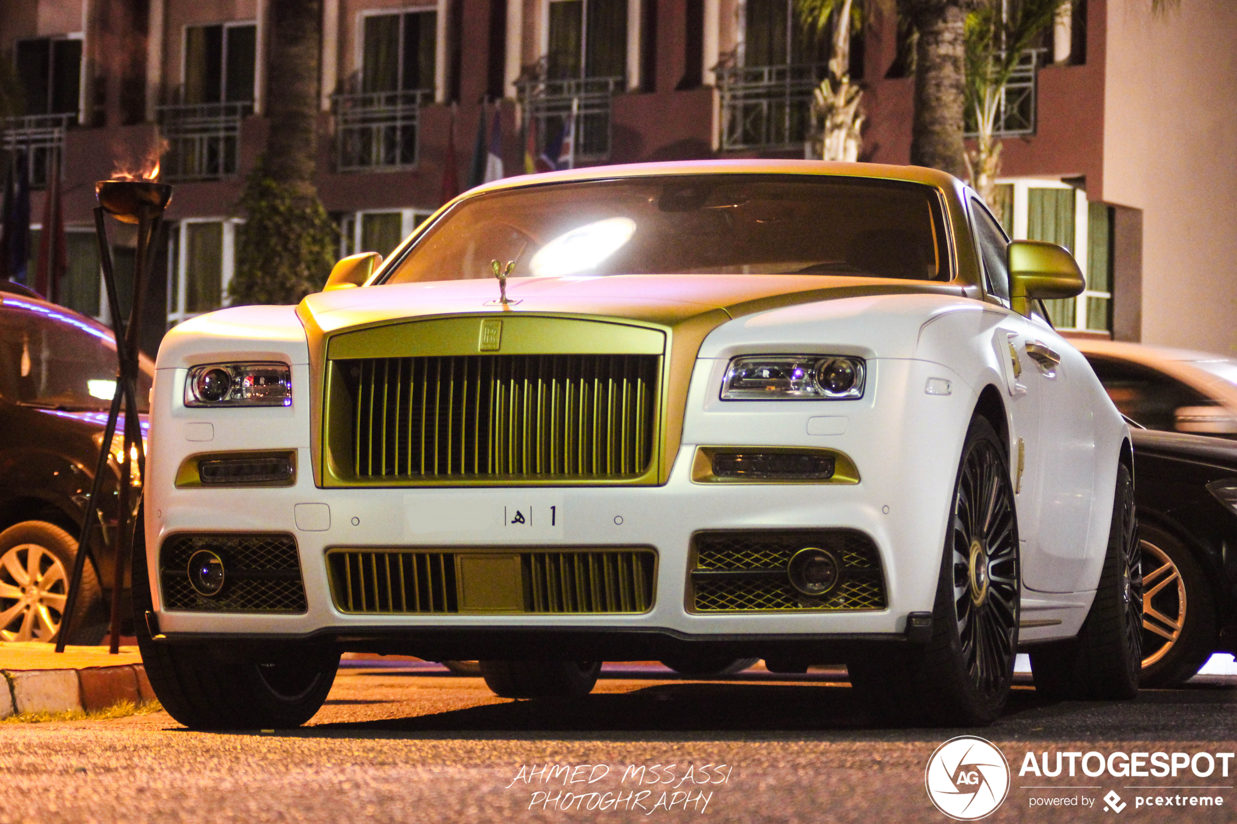 Rolls-Royce Wraith Palm Edition 999 suits Morocco perfectly