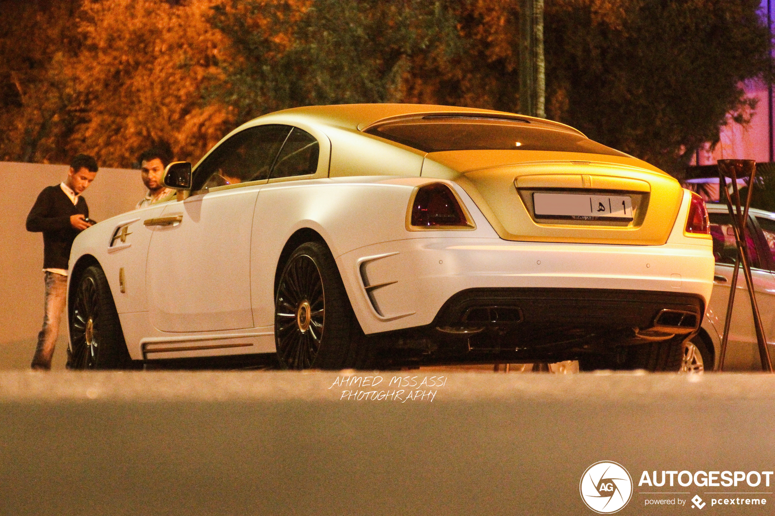 Rolls-Royce Wraith Palm Edition 999 past perfect in Marokko