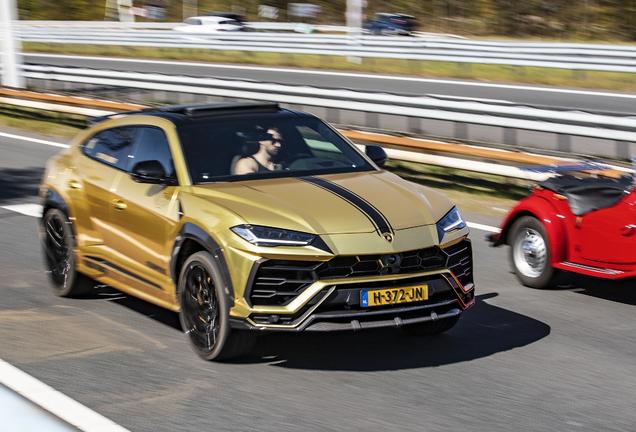 Lamborghini Urus Nero Design