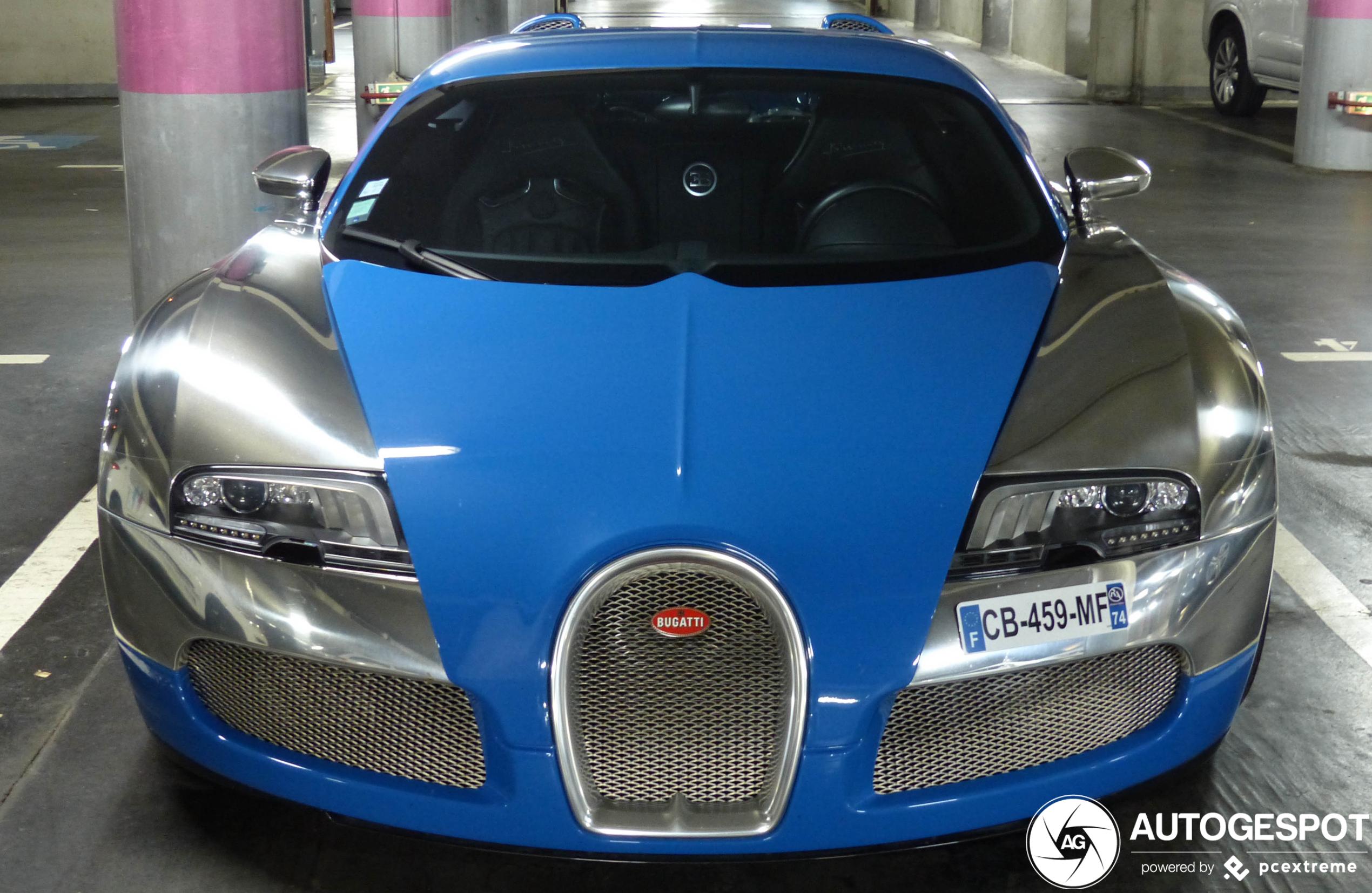 Topspot: op de knieën voor de Bugatti Veyron 16.4 Centenaire