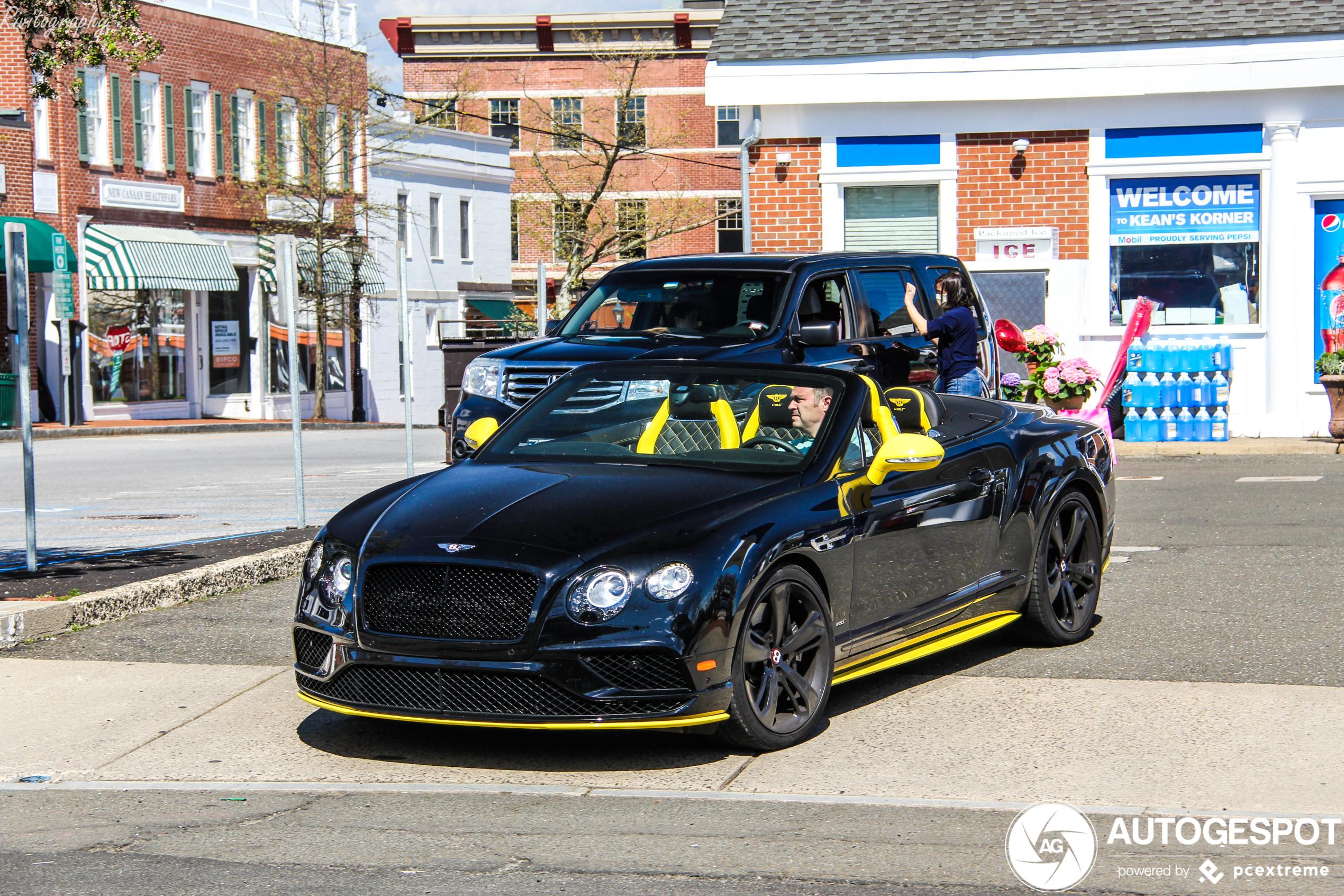Bentley Continental GTC Black Edition heeft perfecte combinatie