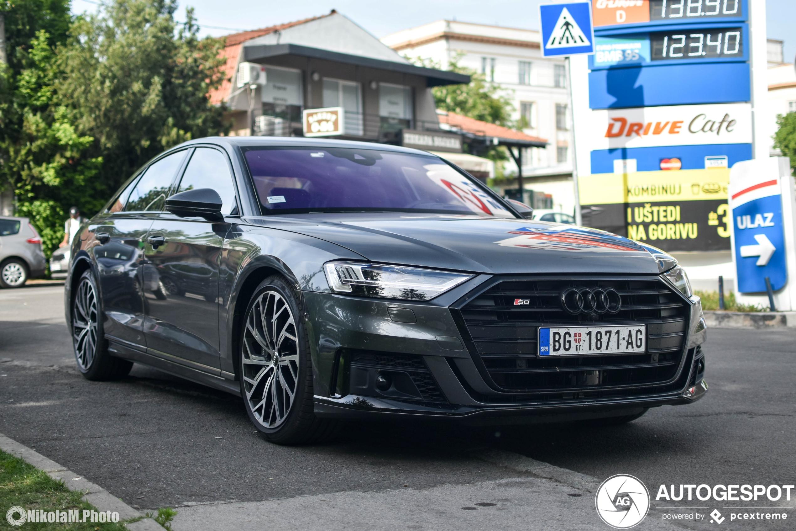 Sportief en luxueus: Audi s8