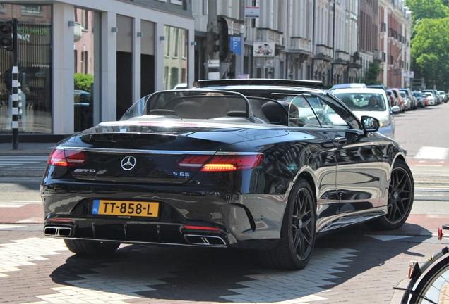 Mercedes-AMG S 65 Convertible A217 2018