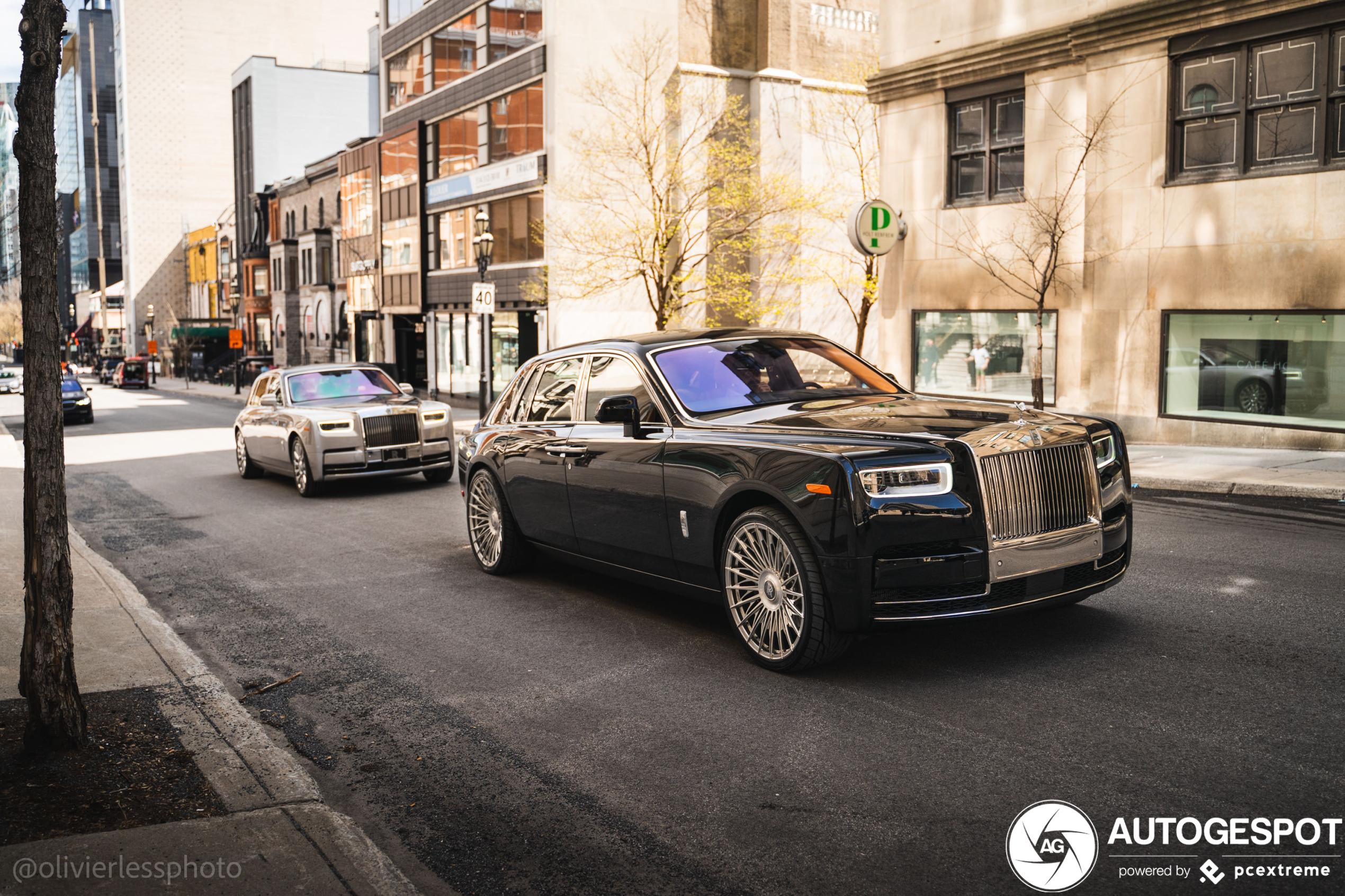 Rolls-Royce Phantom heeft behoorlijke sloffen