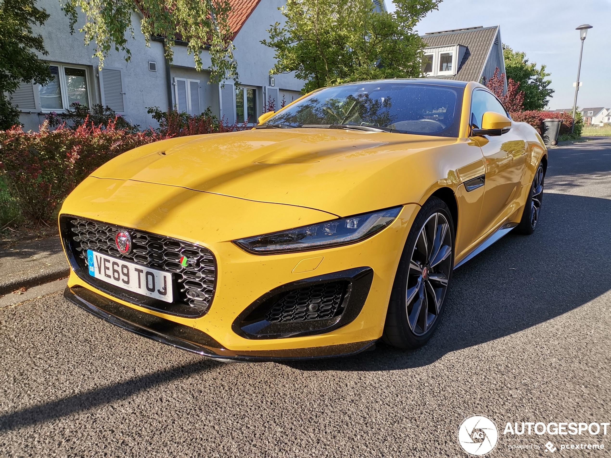 Jaguar F-TYPE R Coupé 2020 - 14 May 2020 - Autogespot