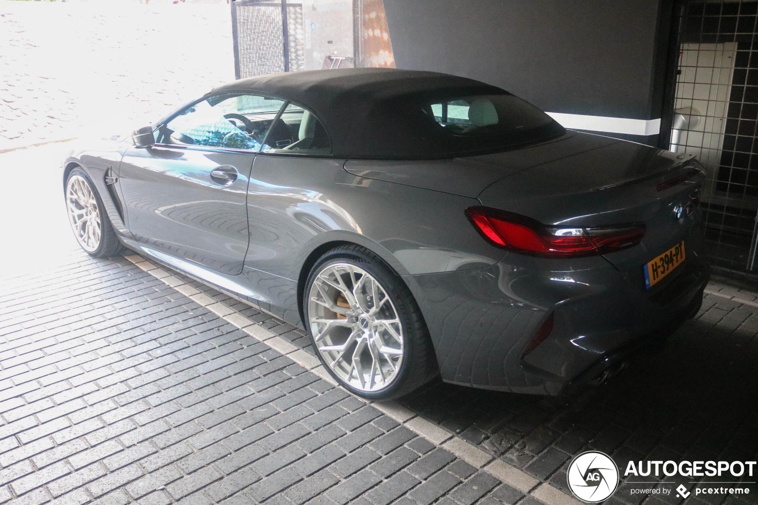 BMW M8 Convertible heeft nieuwe gekregen