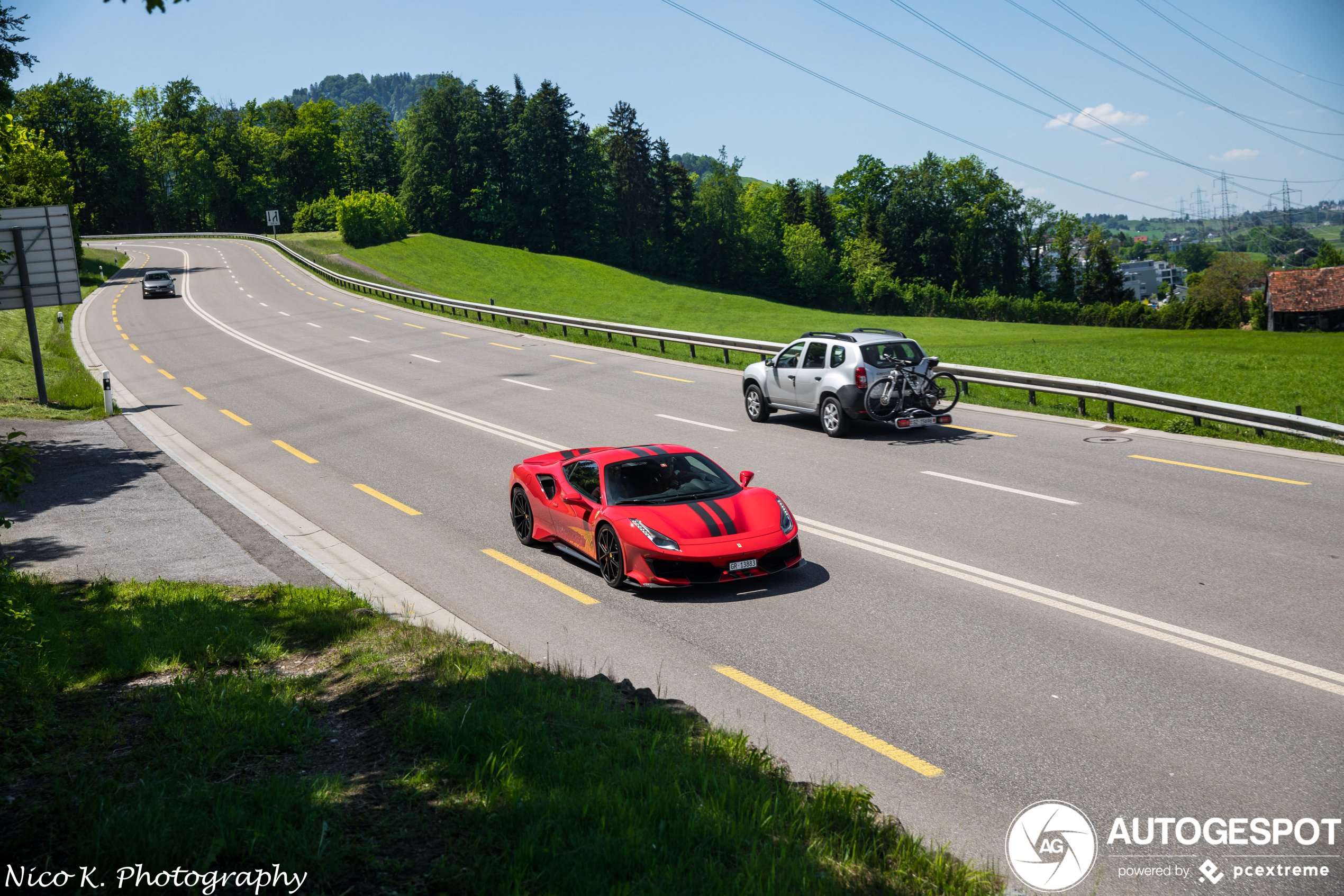 Dit zijn de Ferrari's 488 Pista van afgelopen dagen