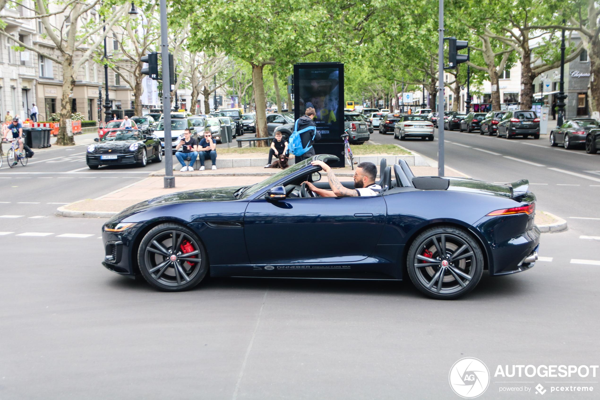 Jaguar F-TYPE R Convertible 2020 - 22 May 2020 - Autogespot
