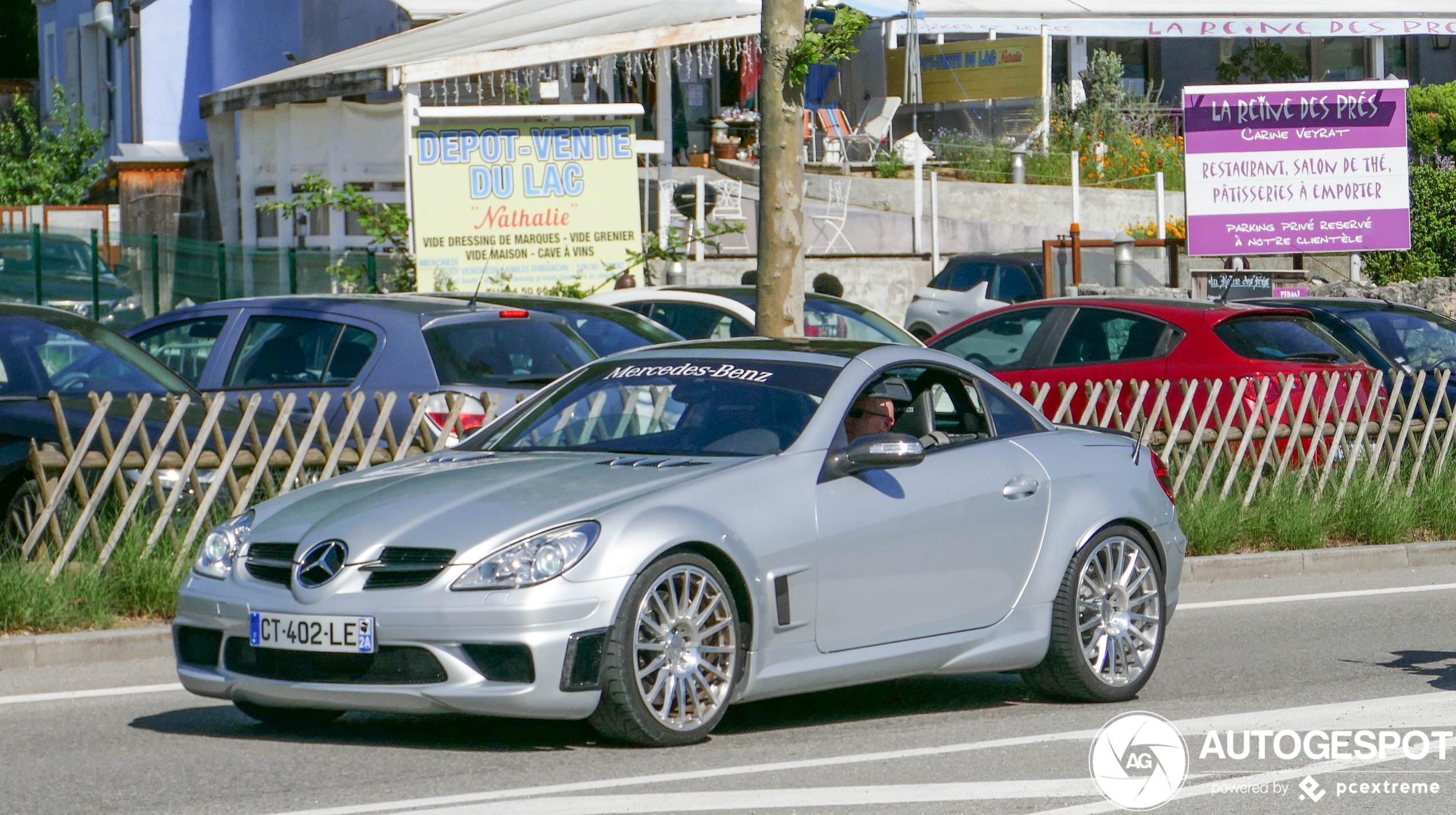 Mercedes-Benz SLK 55 AMG Black Series is uniek kanon