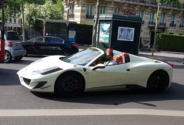 Ferrari458 Spider Mansory Siracusa Monaco Limited Edition