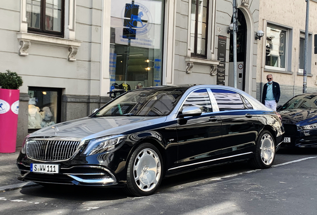 Mercedes-Maybach S 600 X222