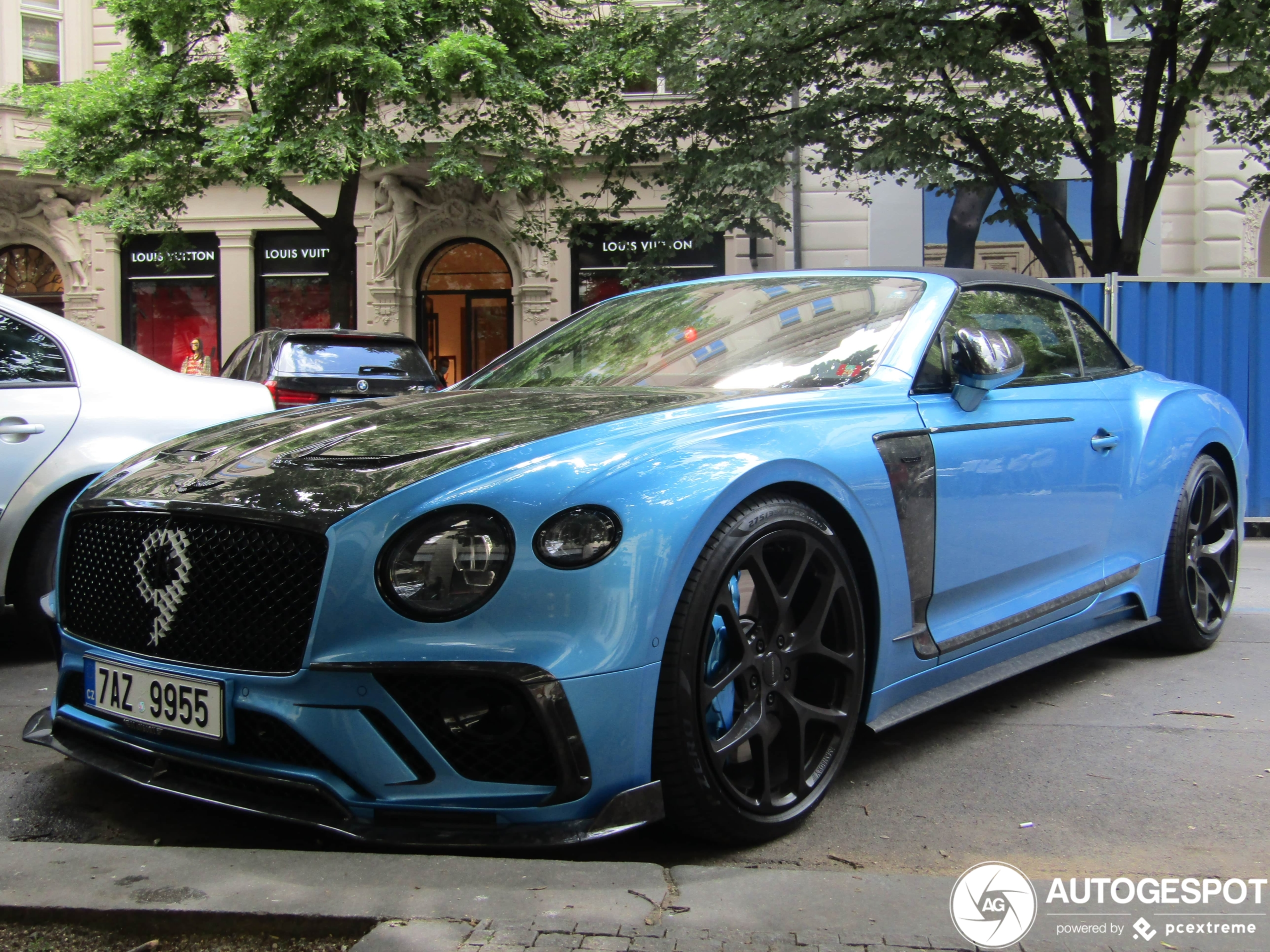 Bentley Mansory Continental GTC 2019 is tikkeltje ordinair