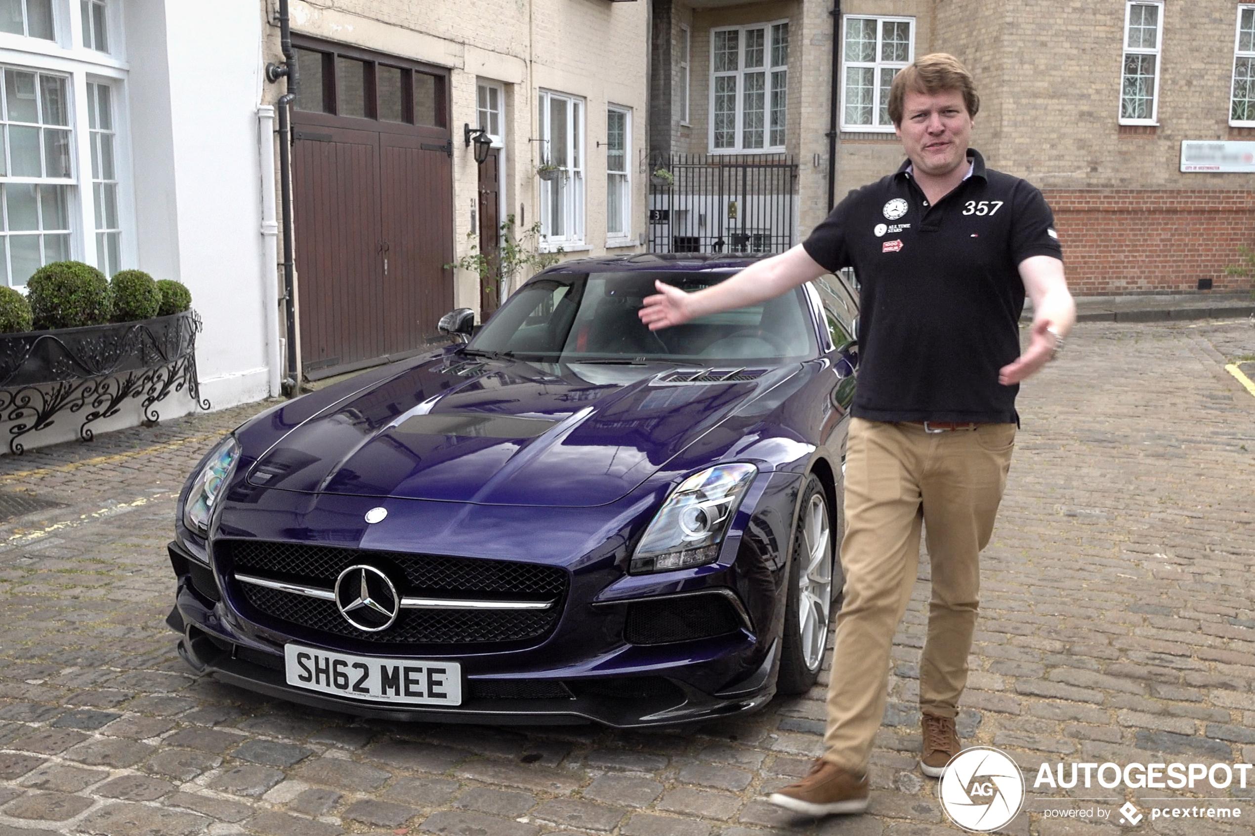 Shmee150 zijn Mercedes-Benz SLS AMG Black Series prachtig vastgelegd