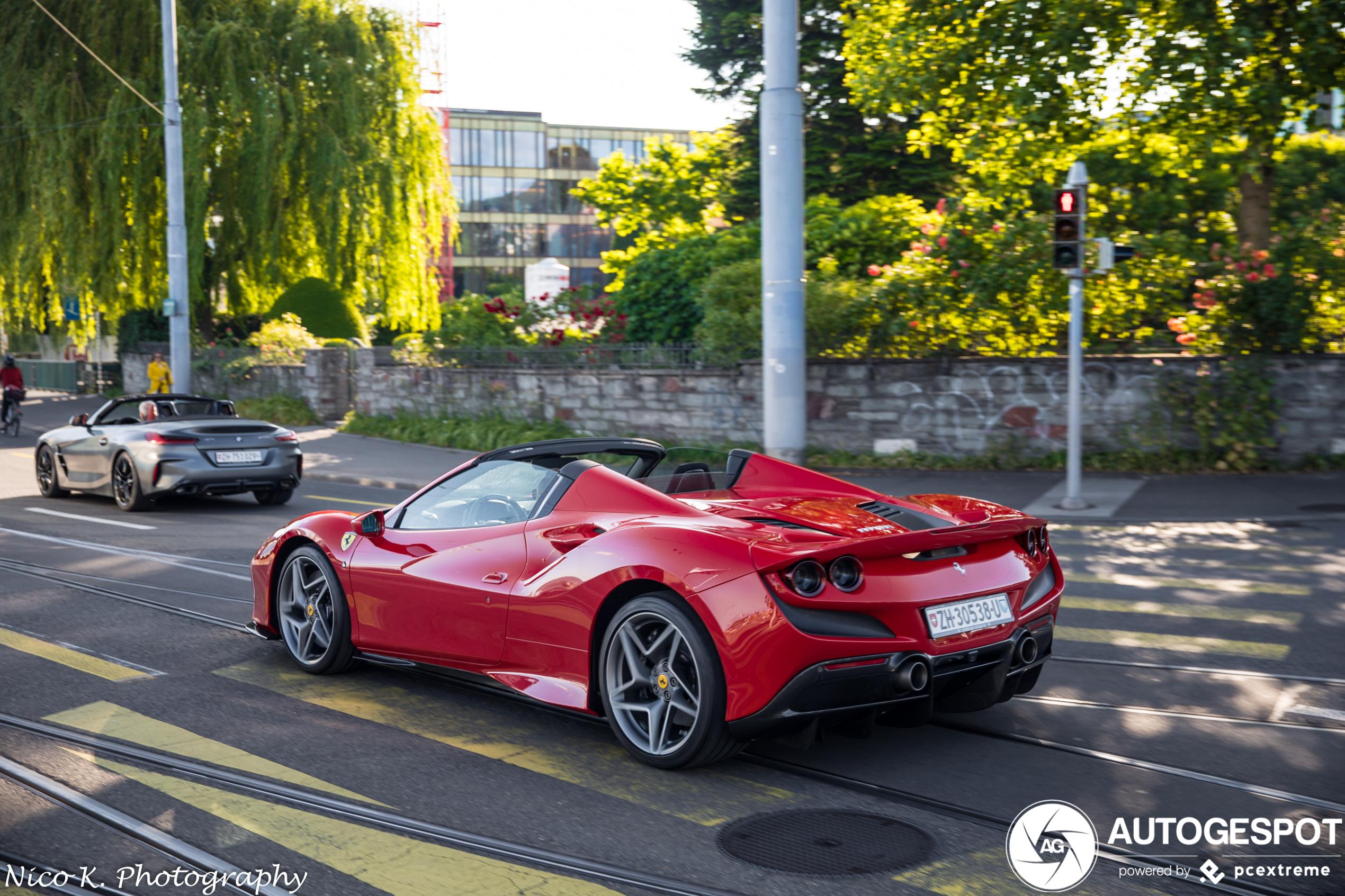 Ferrari F8 Spider 29 Mai 2020 Autogespot