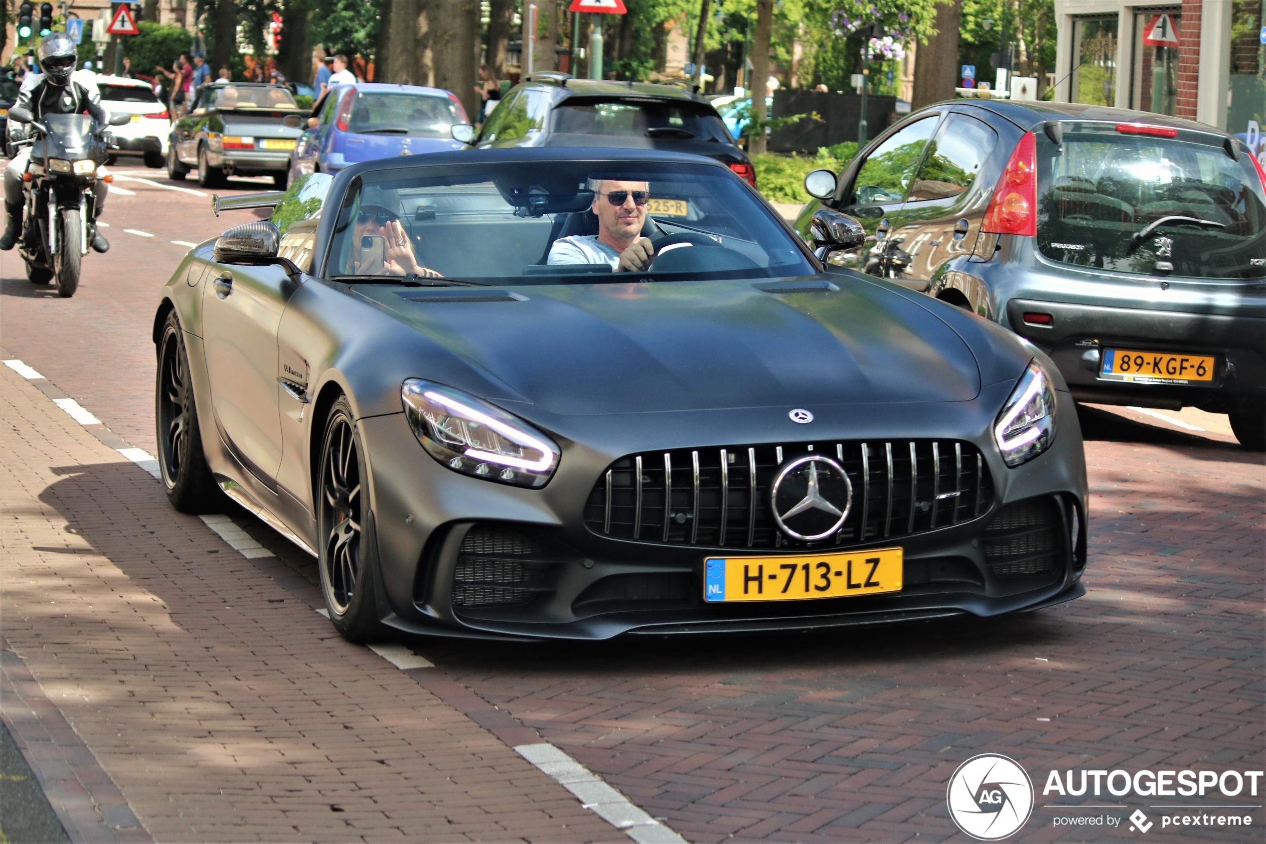 Dit is de eerste Mercedes-AMG GT R Roadster op Nederlands kenteken