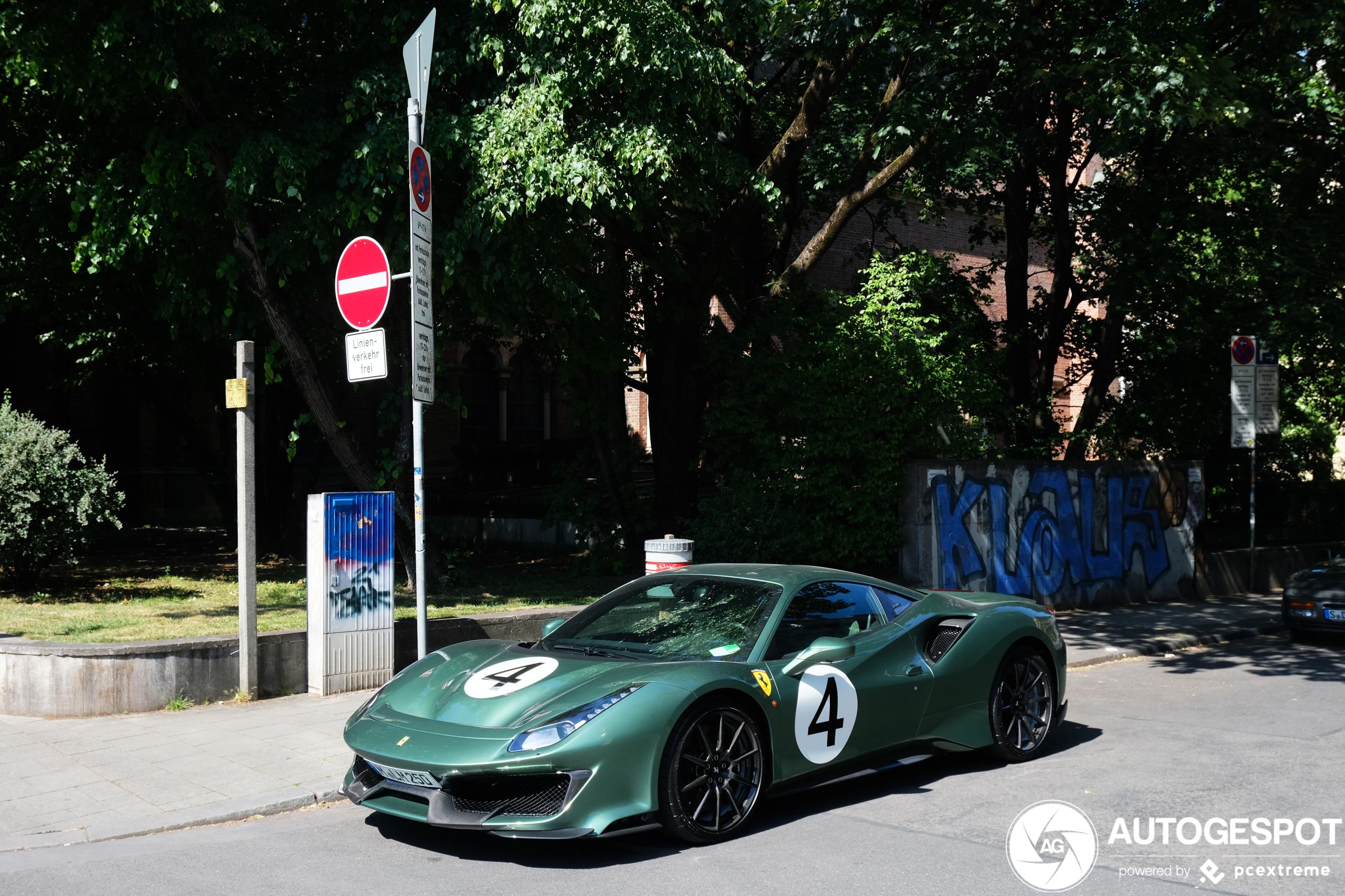 Mooier gaan we je dag niet maken: Ferrari 488 Pista