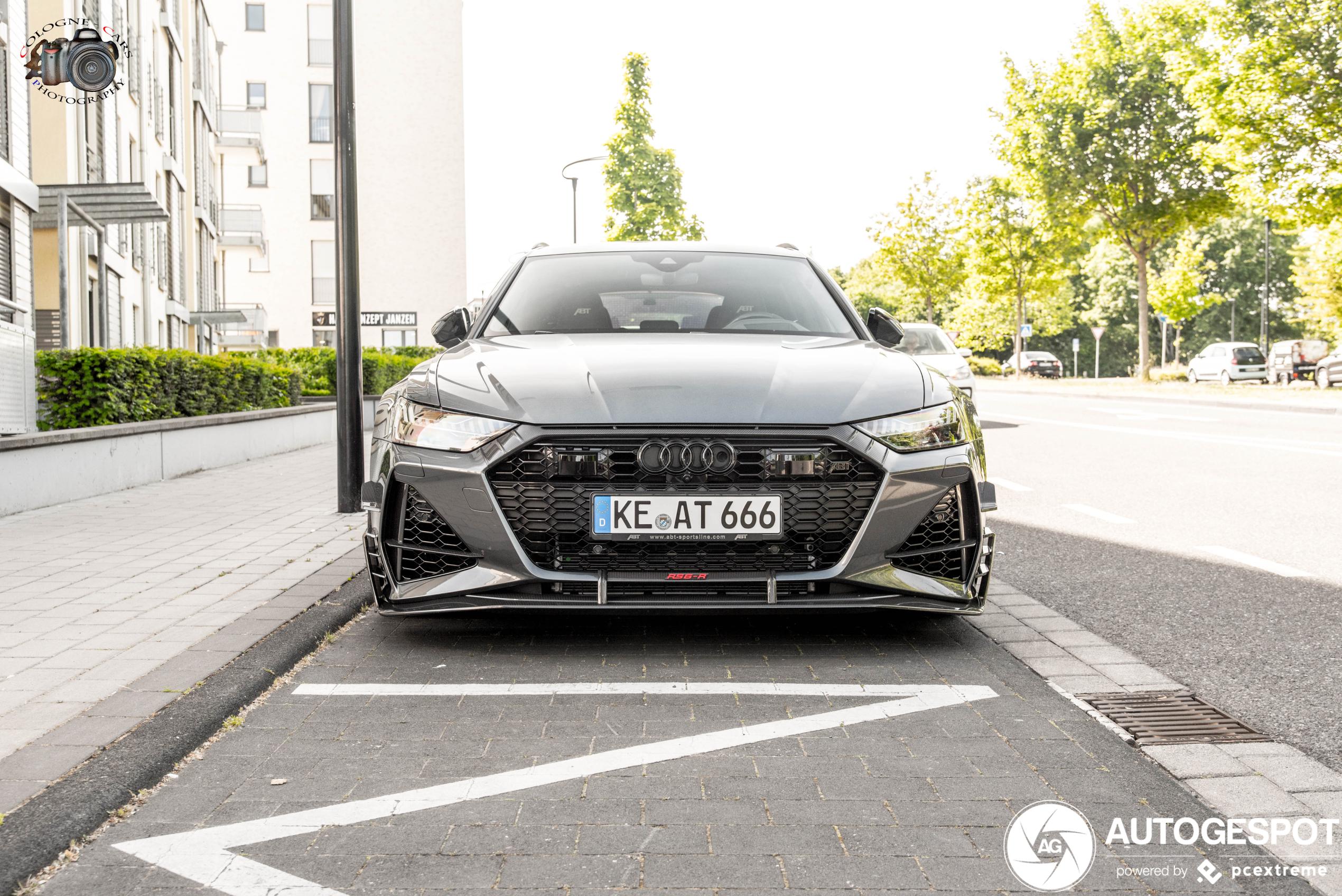 Beestachtig lekker: Audi ABT RS6-R Avant C8
