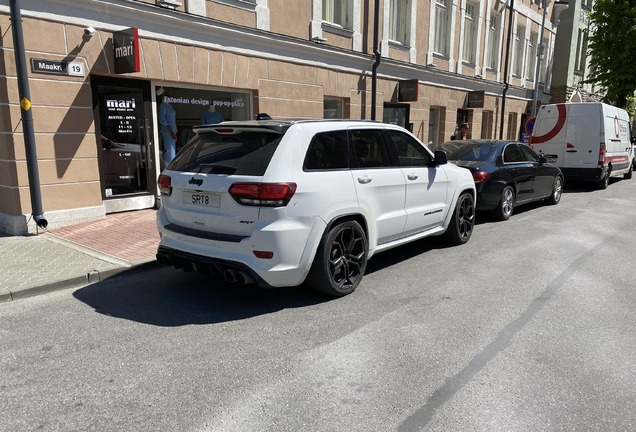 Jeep Grand Cherokee SRT 2014 Red Vapor Edition