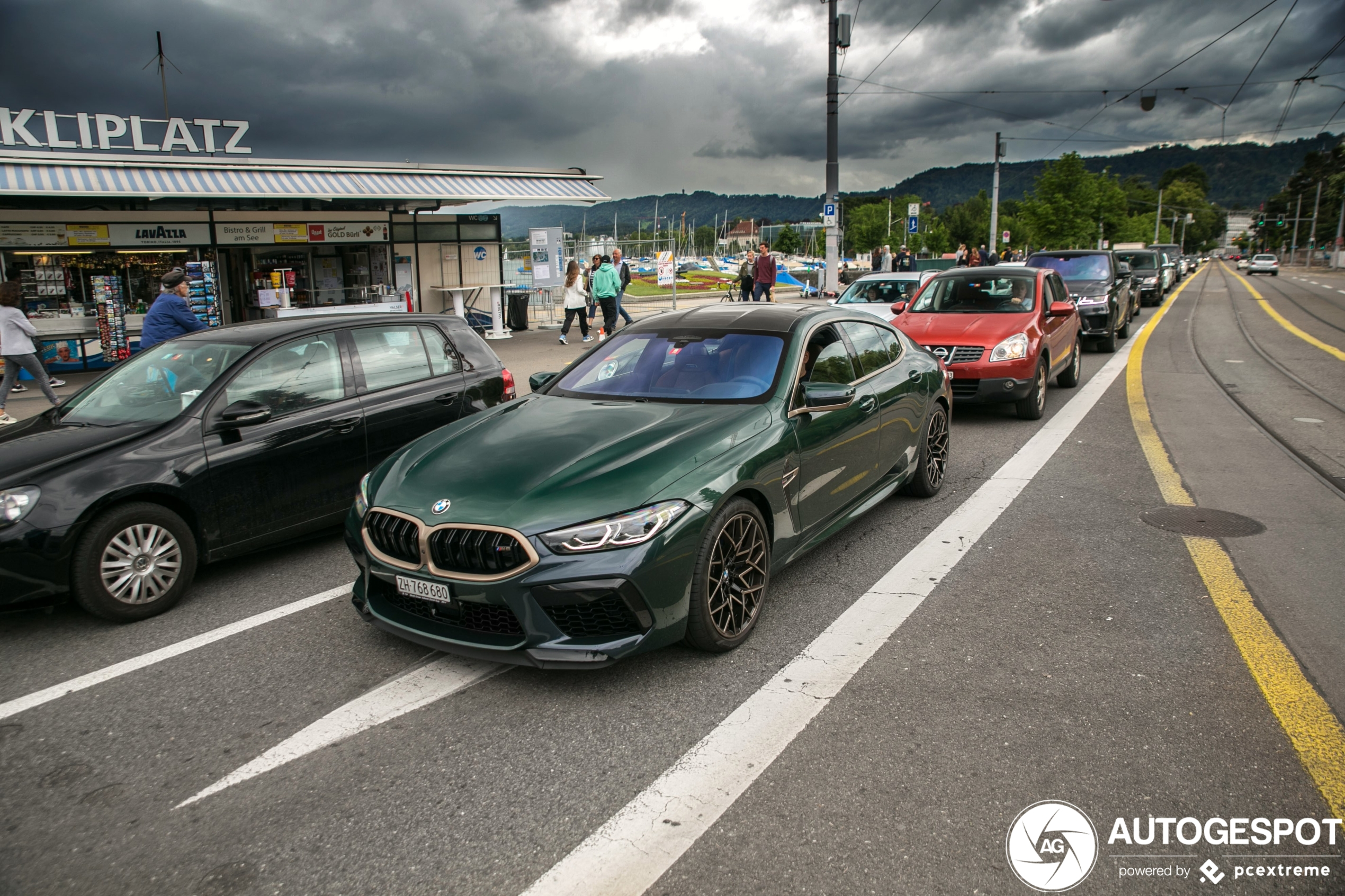 BMW M8 Gran Coupé Competition First Edition is as long as its name.